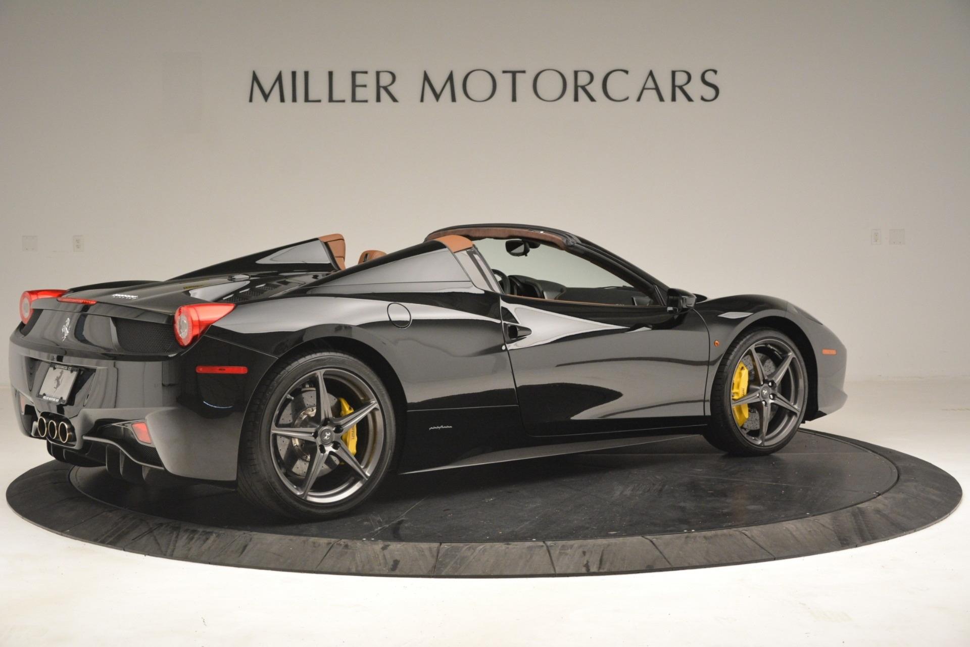 Used 2013 Ferrari 458 Spider  For Sale In Greenwich, CT. Alfa Romeo of Greenwich, 4553A 3114_p8