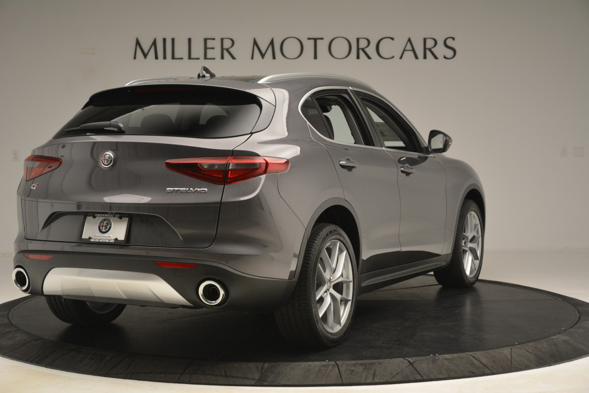 New 2019 Alfa Romeo Stelvio Ti Lusso Q4 For Sale In Greenwich, CT. Alfa Romeo of Greenwich, L614 3129_p7