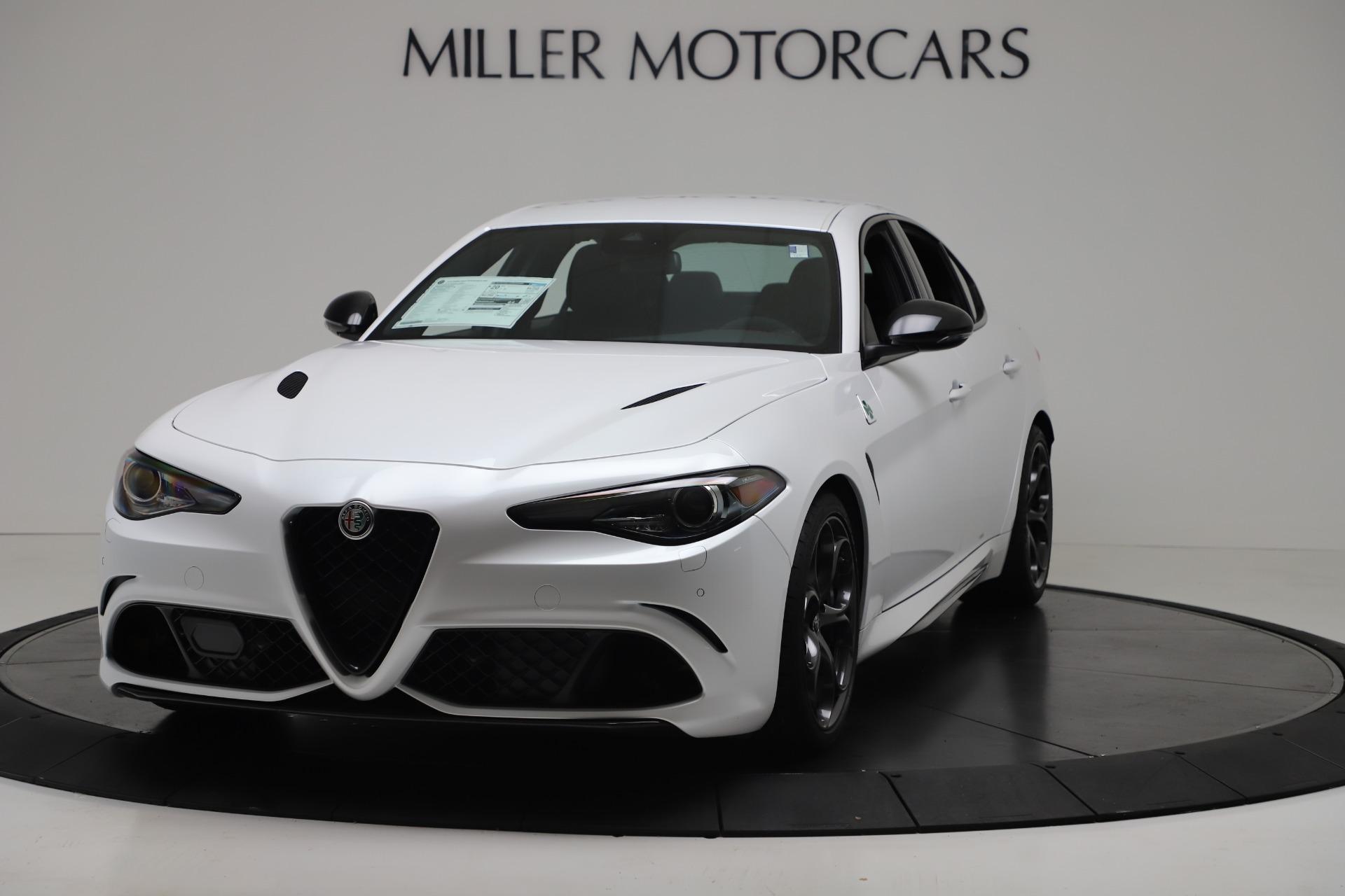 New 2019 Alfa Romeo Giulia Quadrifoglio For Sale In Greenwich, CT. Alfa Romeo of Greenwich, L615 3130_main