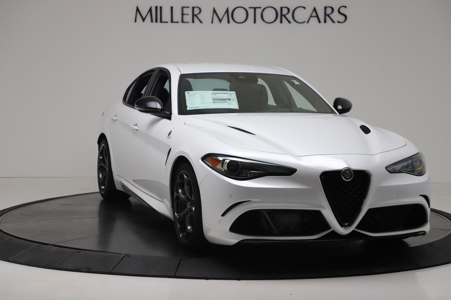 New 2019 Alfa Romeo Giulia Quadrifoglio For Sale In Greenwich, CT. Alfa Romeo of Greenwich, L615 3130_p11