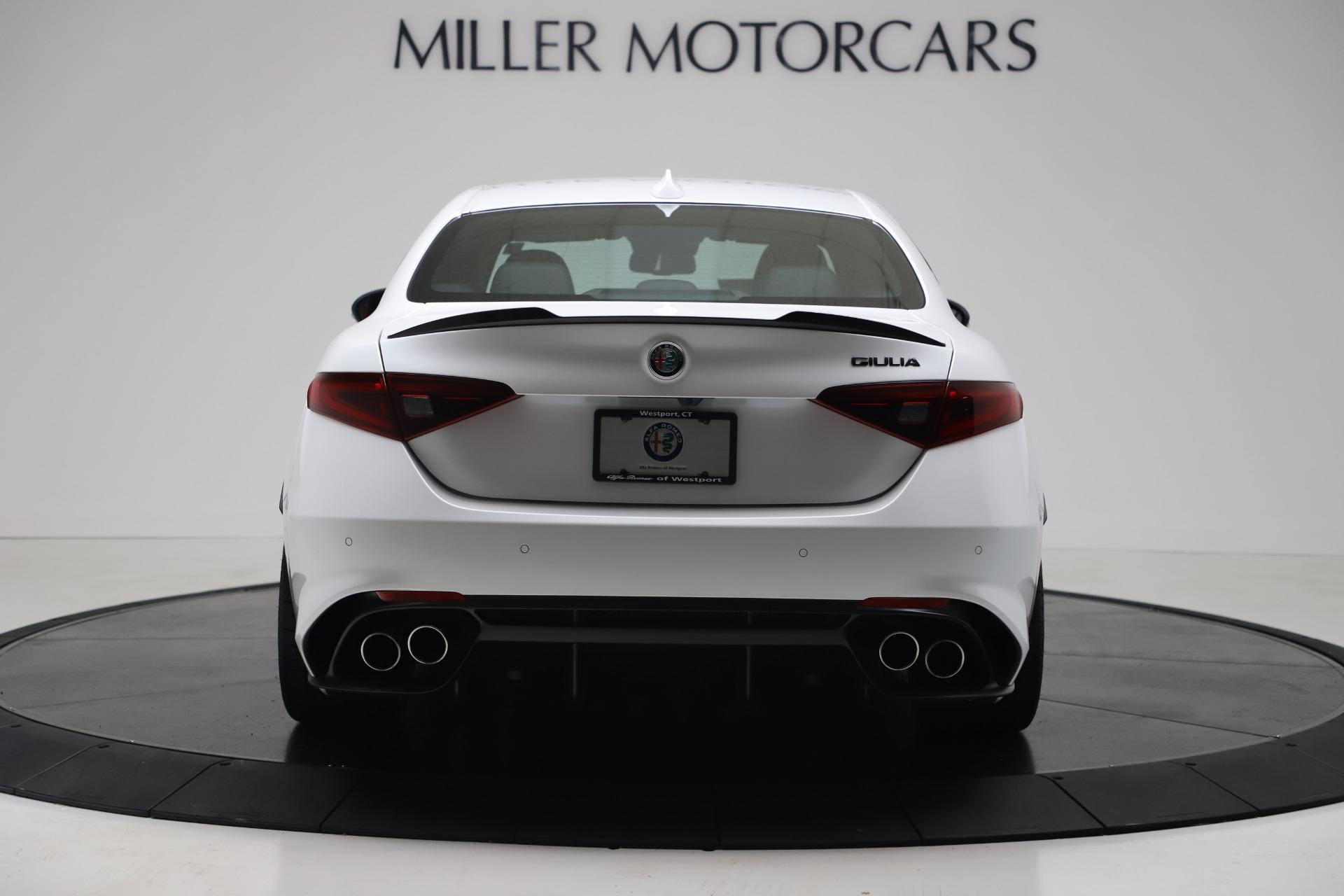 New 2019 Alfa Romeo Giulia Quadrifoglio For Sale In Greenwich, CT. Alfa Romeo of Greenwich, L615 3130_p6