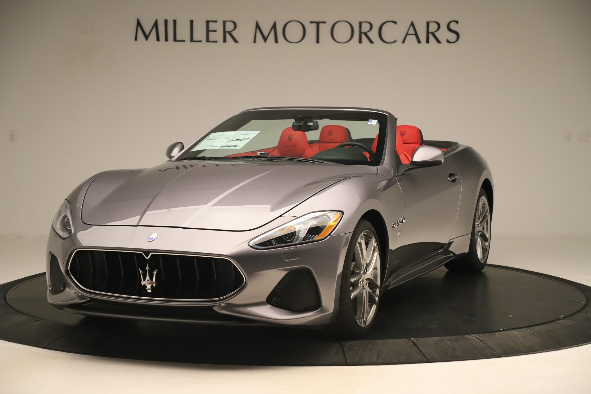 New 2018 Maserati GranTurismo Sport Convertible For Sale In Greenwich, CT. Alfa Romeo of Greenwich, W685 3131_main