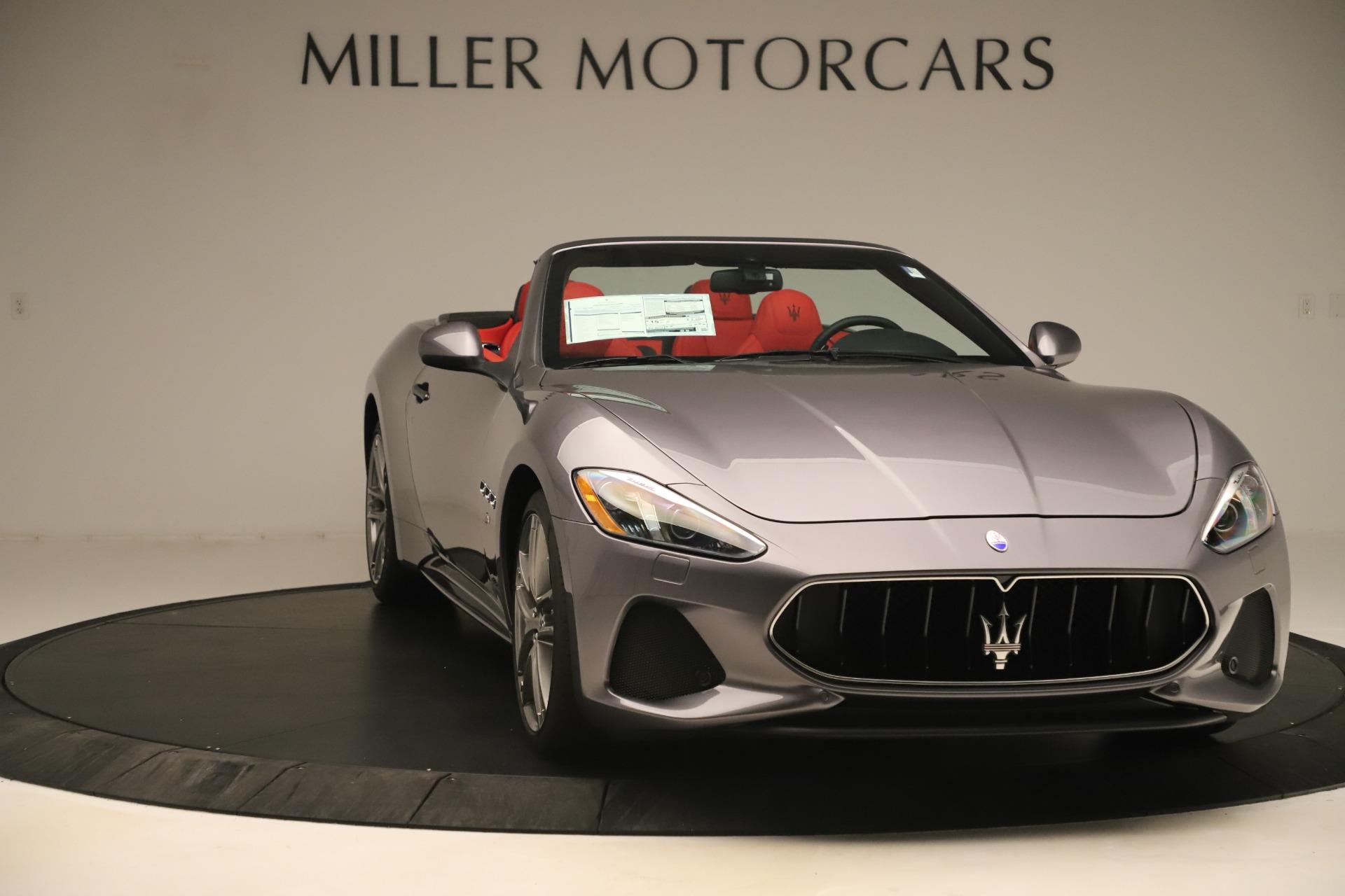New 2018 Maserati GranTurismo Sport Convertible For Sale In Greenwich, CT. Alfa Romeo of Greenwich, W685 3131_p11