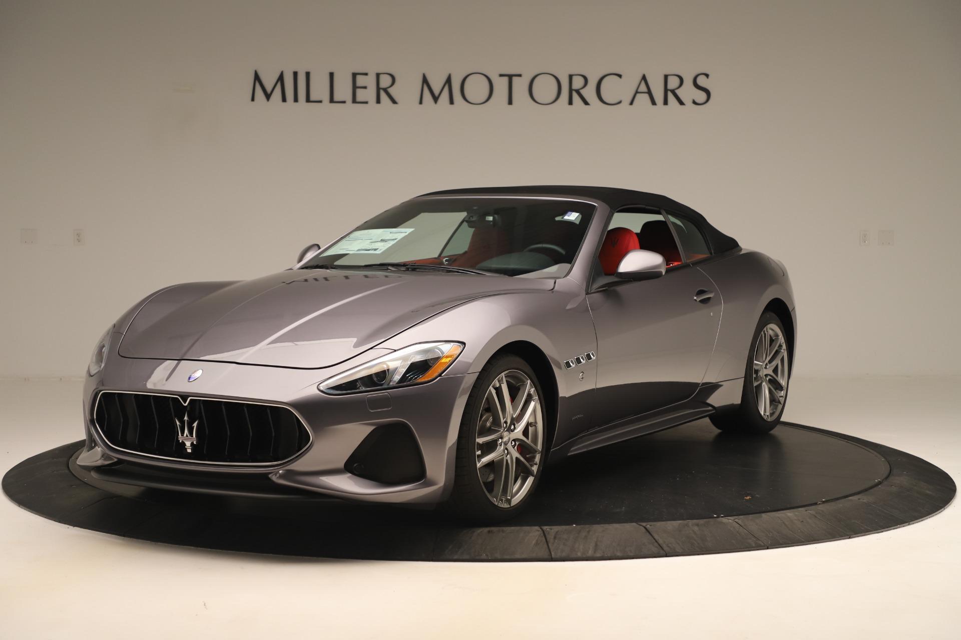 New 2018 Maserati GranTurismo Sport Convertible For Sale In Greenwich, CT. Alfa Romeo of Greenwich, W685 3131_p13