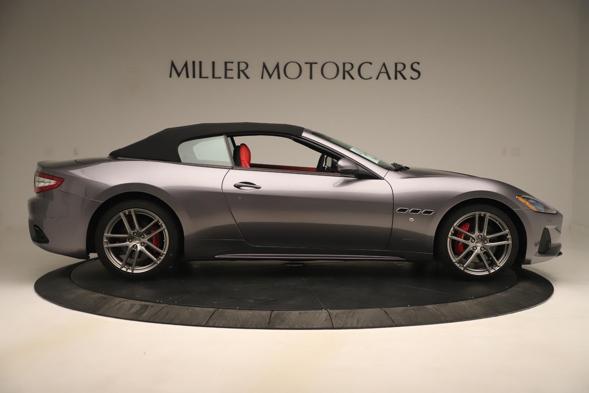 New 2018 Maserati GranTurismo Sport Convertible For Sale In Greenwich, CT. Alfa Romeo of Greenwich, W685 3131_p17