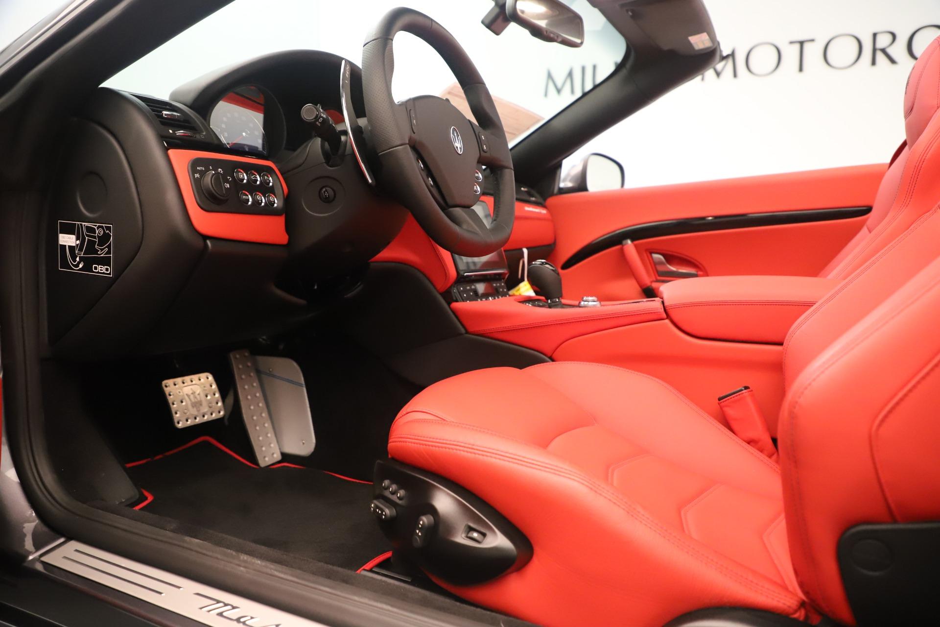 New 2018 Maserati GranTurismo Sport Convertible For Sale In Greenwich, CT. Alfa Romeo of Greenwich, W685 3131_p20