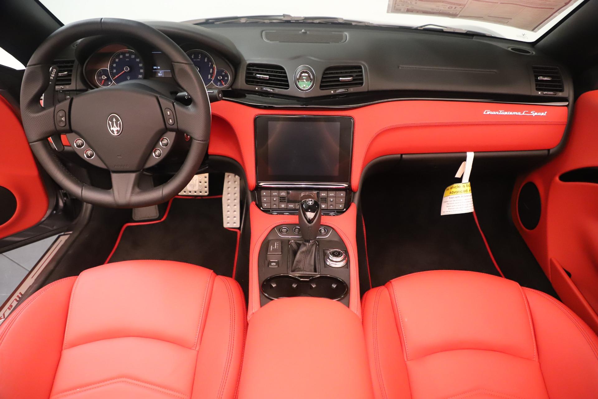 New 2018 Maserati GranTurismo Sport Convertible For Sale In Greenwich, CT. Alfa Romeo of Greenwich, W685 3131_p22