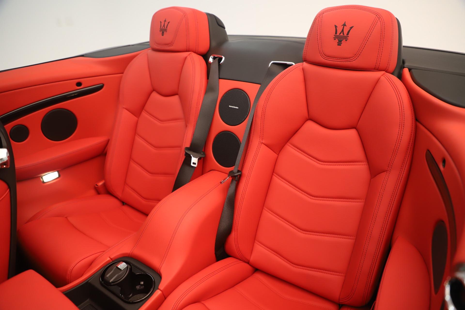 New 2018 Maserati GranTurismo Sport Convertible For Sale In Greenwich, CT. Alfa Romeo of Greenwich, W685 3131_p24