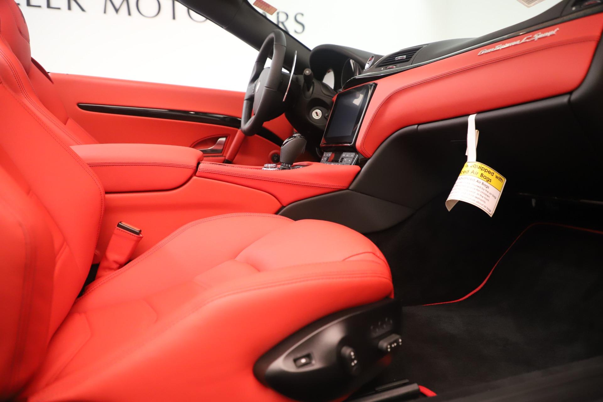 New 2018 Maserati GranTurismo Sport Convertible For Sale In Greenwich, CT. Alfa Romeo of Greenwich, W685 3131_p27