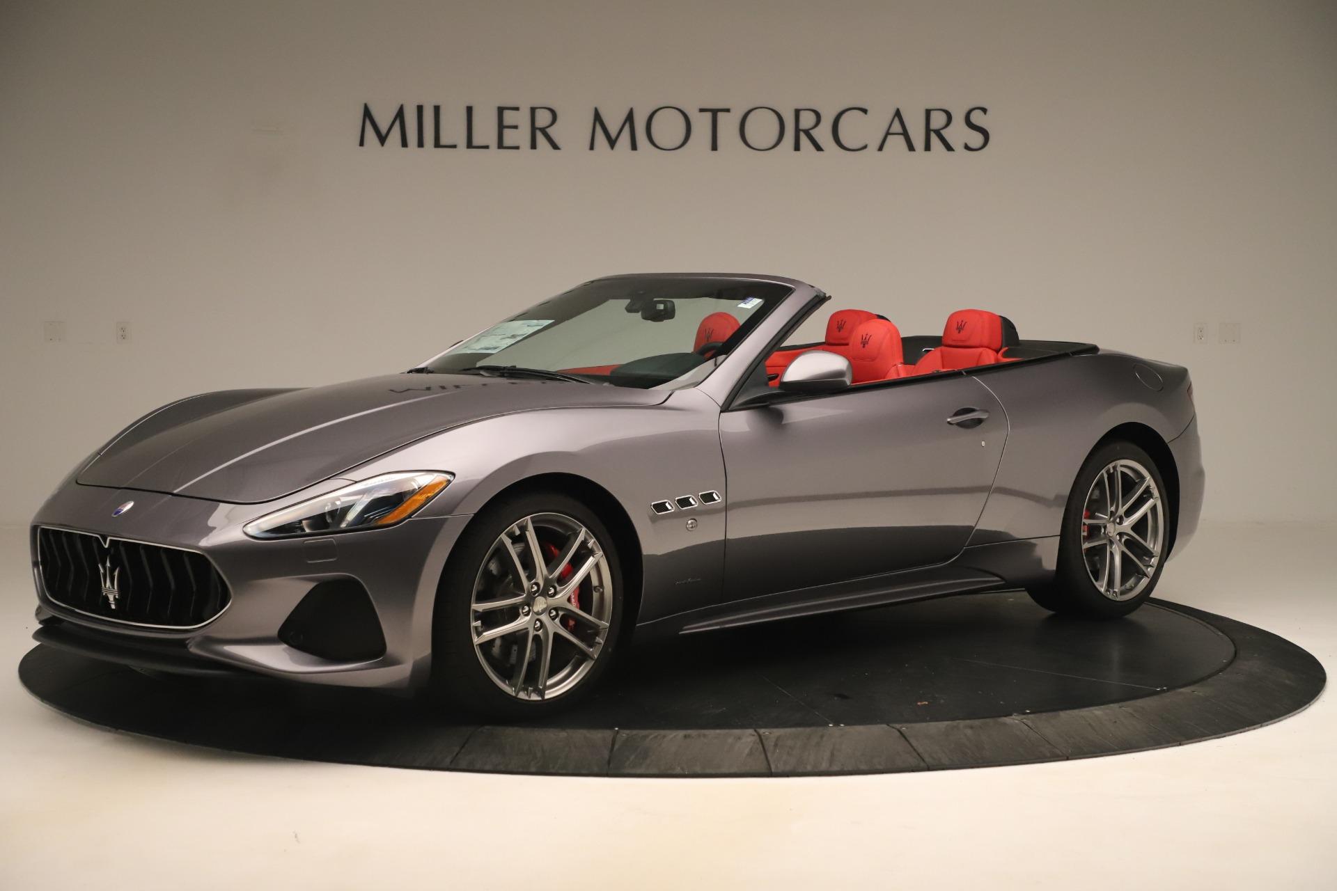 New 2018 Maserati GranTurismo Sport Convertible For Sale In Greenwich, CT. Alfa Romeo of Greenwich, W685 3131_p2