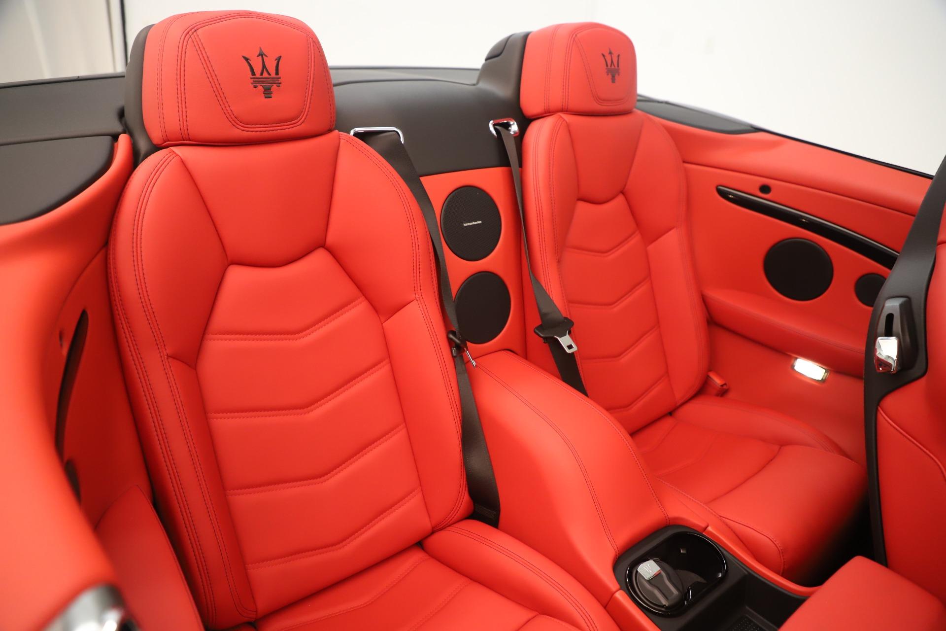 New 2018 Maserati GranTurismo Sport Convertible For Sale In Greenwich, CT. Alfa Romeo of Greenwich, W685 3131_p30