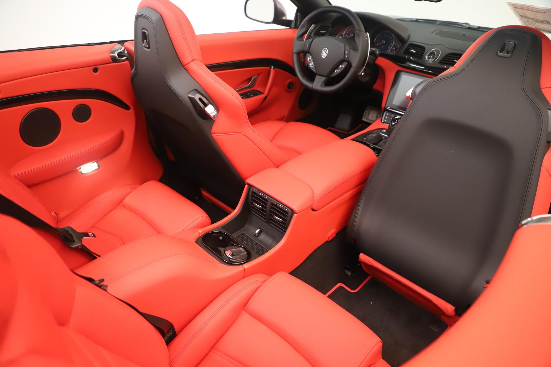 New 2018 Maserati GranTurismo Sport Convertible For Sale In Greenwich, CT. Alfa Romeo of Greenwich, W685 3131_p31
