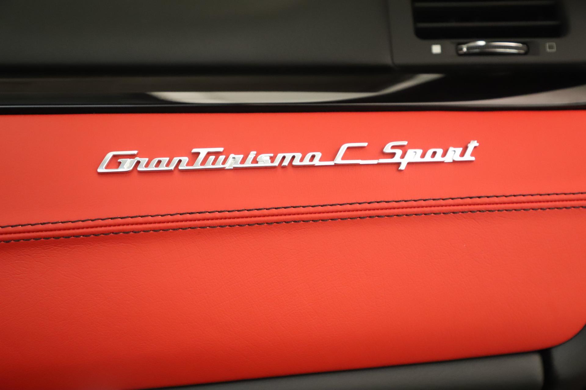 New 2018 Maserati GranTurismo Sport Convertible For Sale In Greenwich, CT. Alfa Romeo of Greenwich, W685 3131_p32
