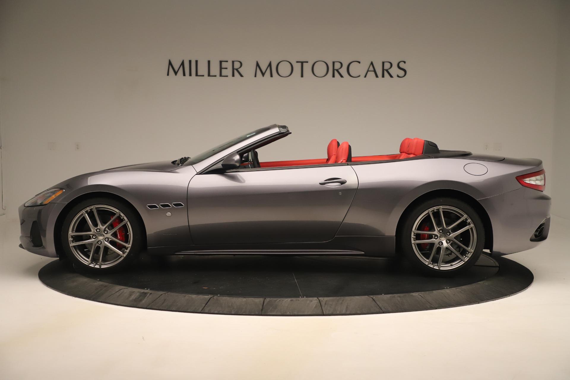 New 2018 Maserati GranTurismo Sport Convertible For Sale In Greenwich, CT. Alfa Romeo of Greenwich, W685 3131_p3