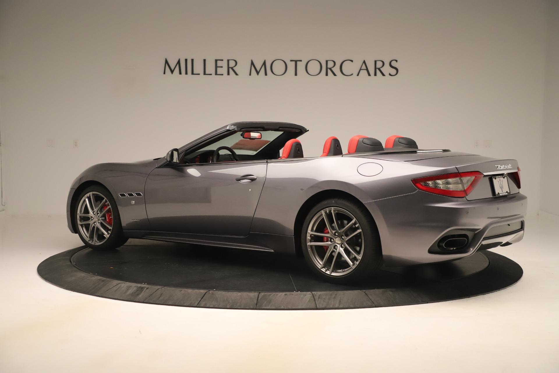 New 2018 Maserati GranTurismo Sport Convertible For Sale In Greenwich, CT. Alfa Romeo of Greenwich, W685 3131_p4
