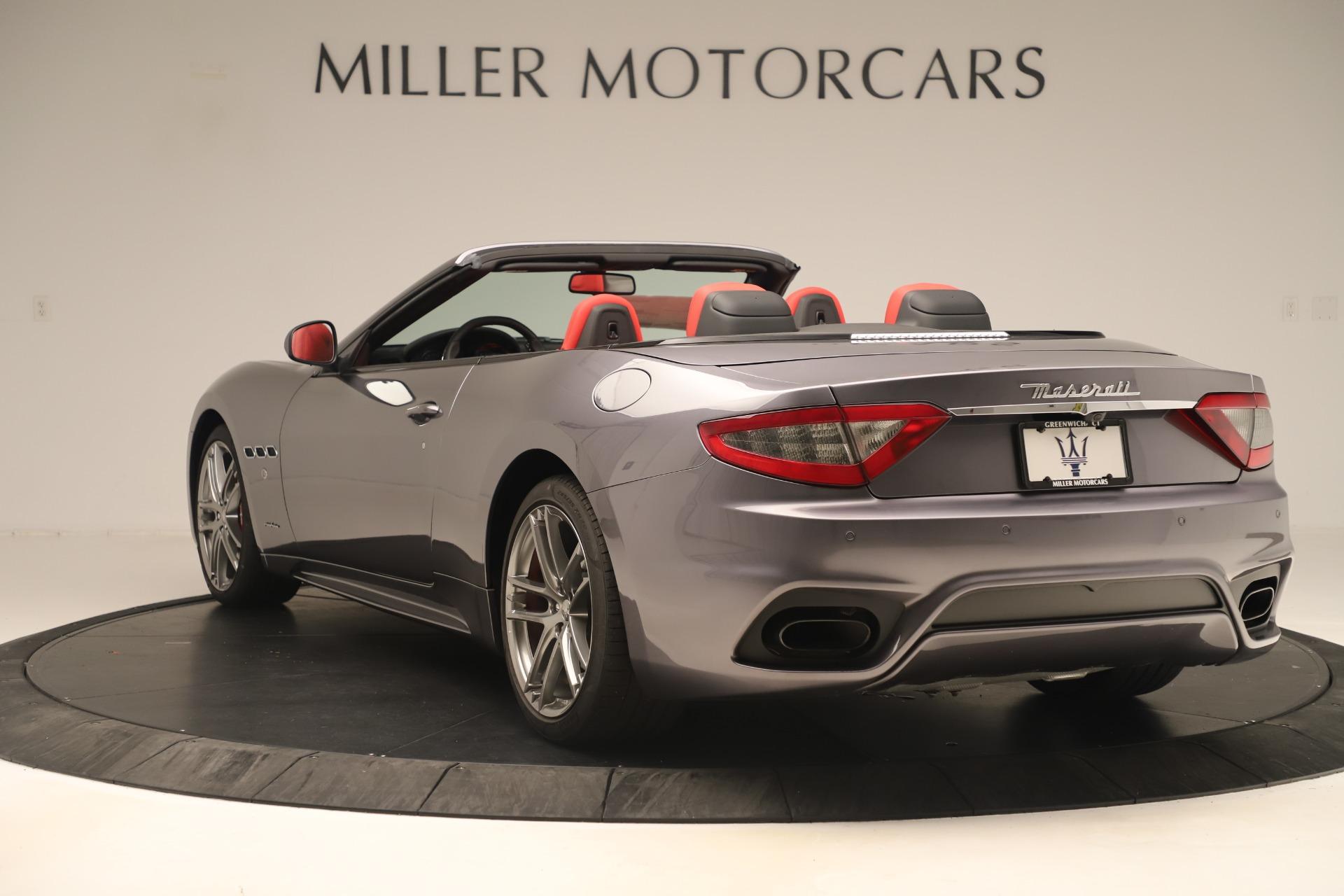 New 2018 Maserati GranTurismo Sport Convertible For Sale In Greenwich, CT. Alfa Romeo of Greenwich, W685 3131_p5