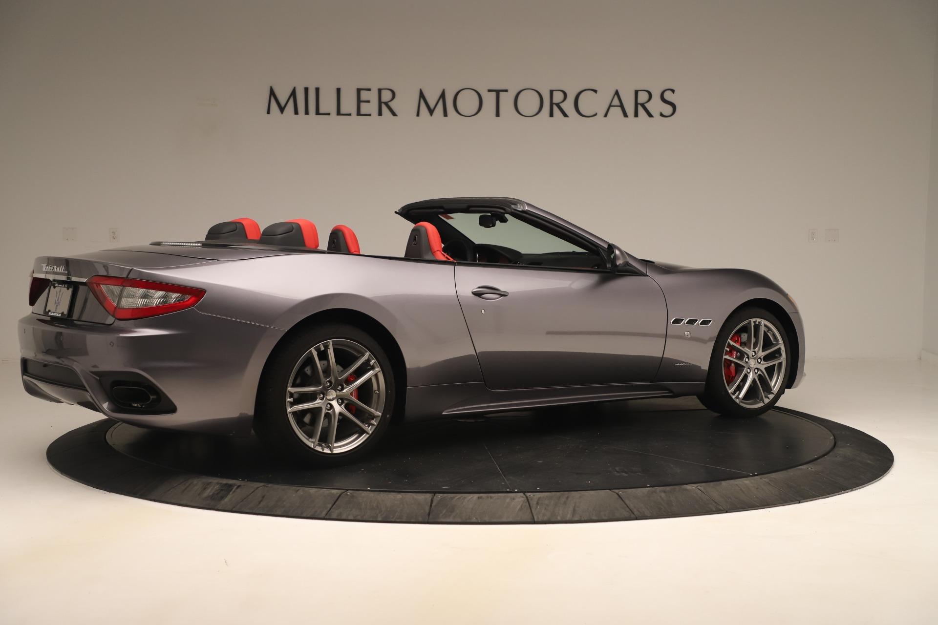New 2018 Maserati GranTurismo Sport Convertible For Sale In Greenwich, CT. Alfa Romeo of Greenwich, W685 3131_p8