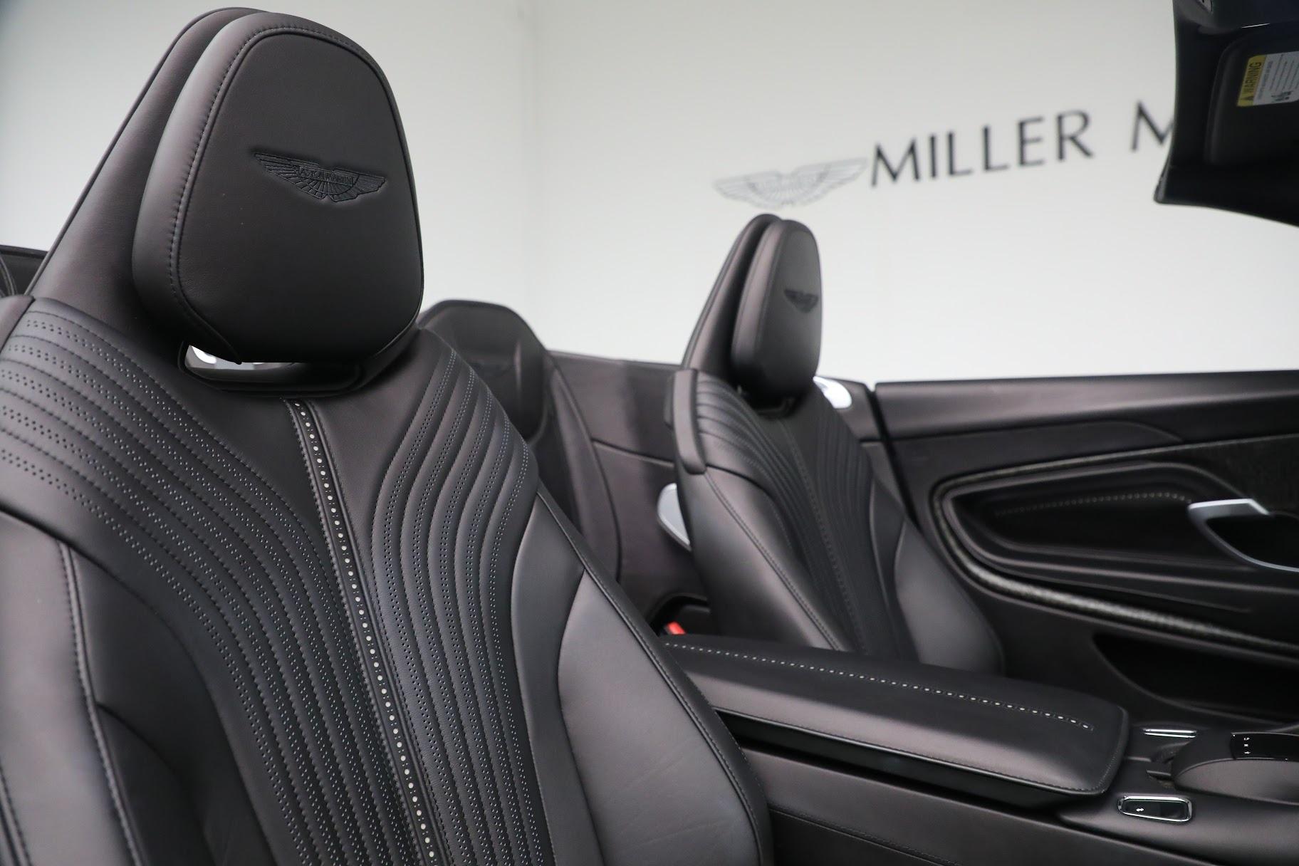 New 2019 Aston Martin DB11 V8 Convertible For Sale In Greenwich, CT. Alfa Romeo of Greenwich, A1312 3136_p23