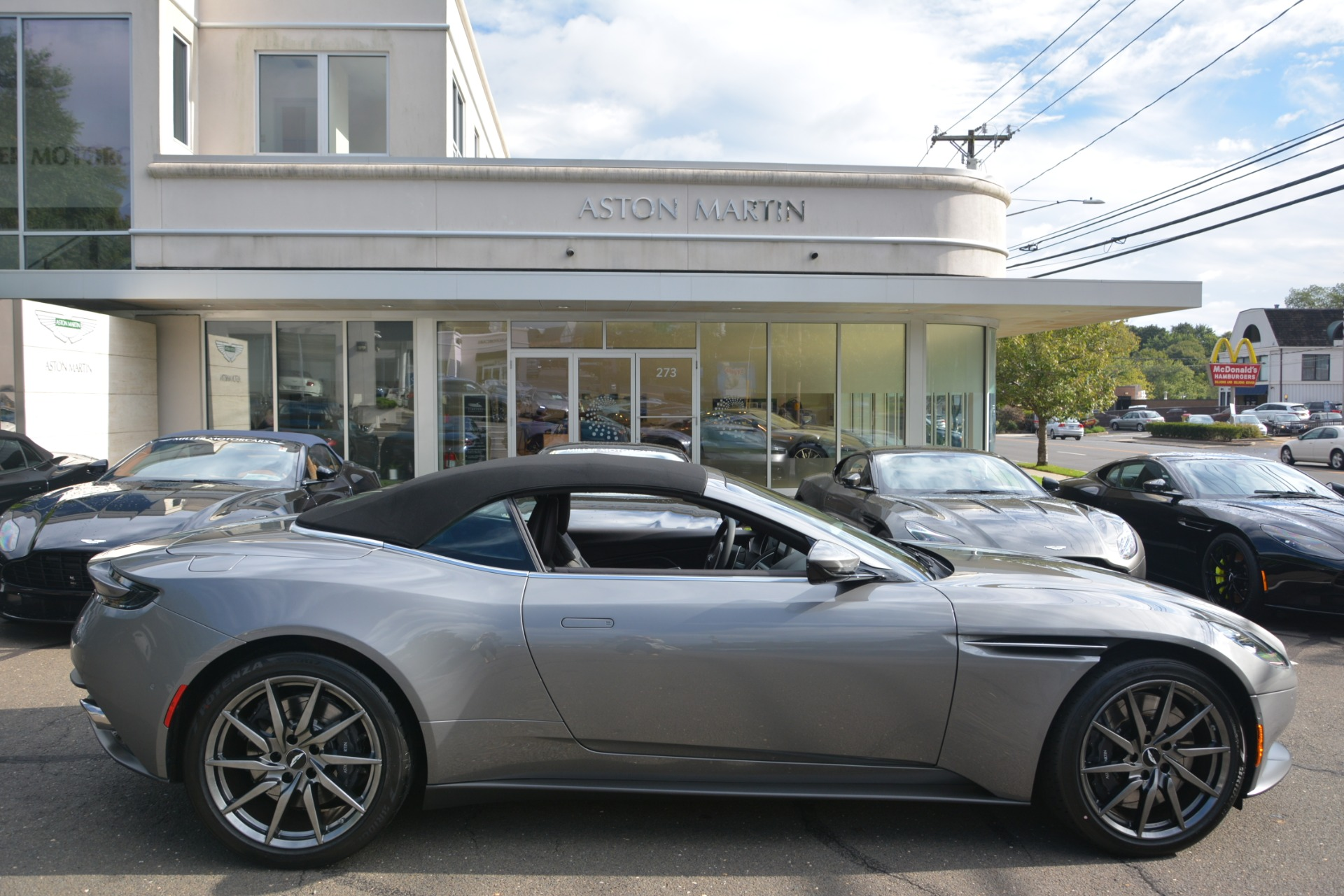 New 2019 Aston Martin DB11 V8 Convertible For Sale In Greenwich, CT. Alfa Romeo of Greenwich, A1312 3136_p27