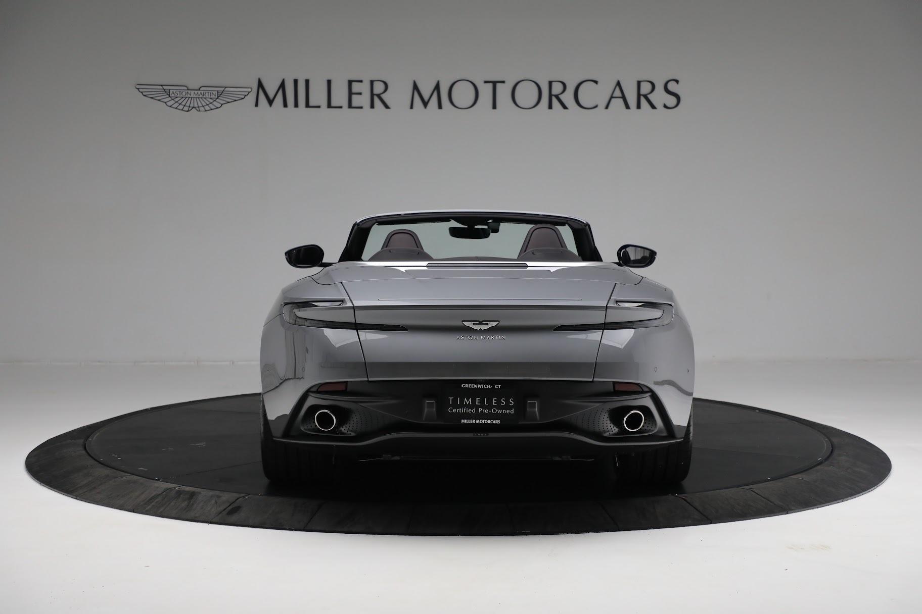 New 2019 Aston Martin DB11 V8 Convertible For Sale In Greenwich, CT. Alfa Romeo of Greenwich, A1312 3136_p5