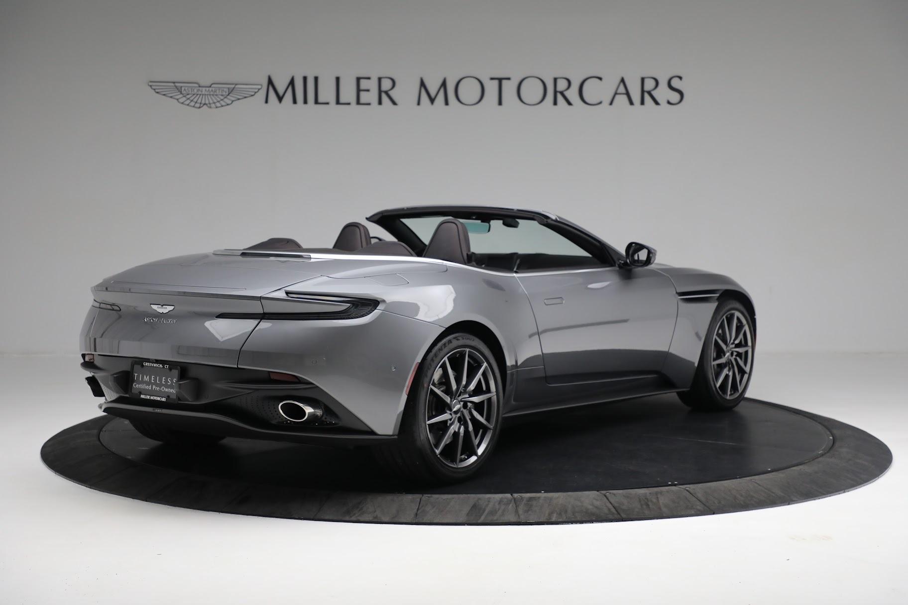 New 2019 Aston Martin DB11 V8 Convertible For Sale In Greenwich, CT. Alfa Romeo of Greenwich, A1312 3136_p7