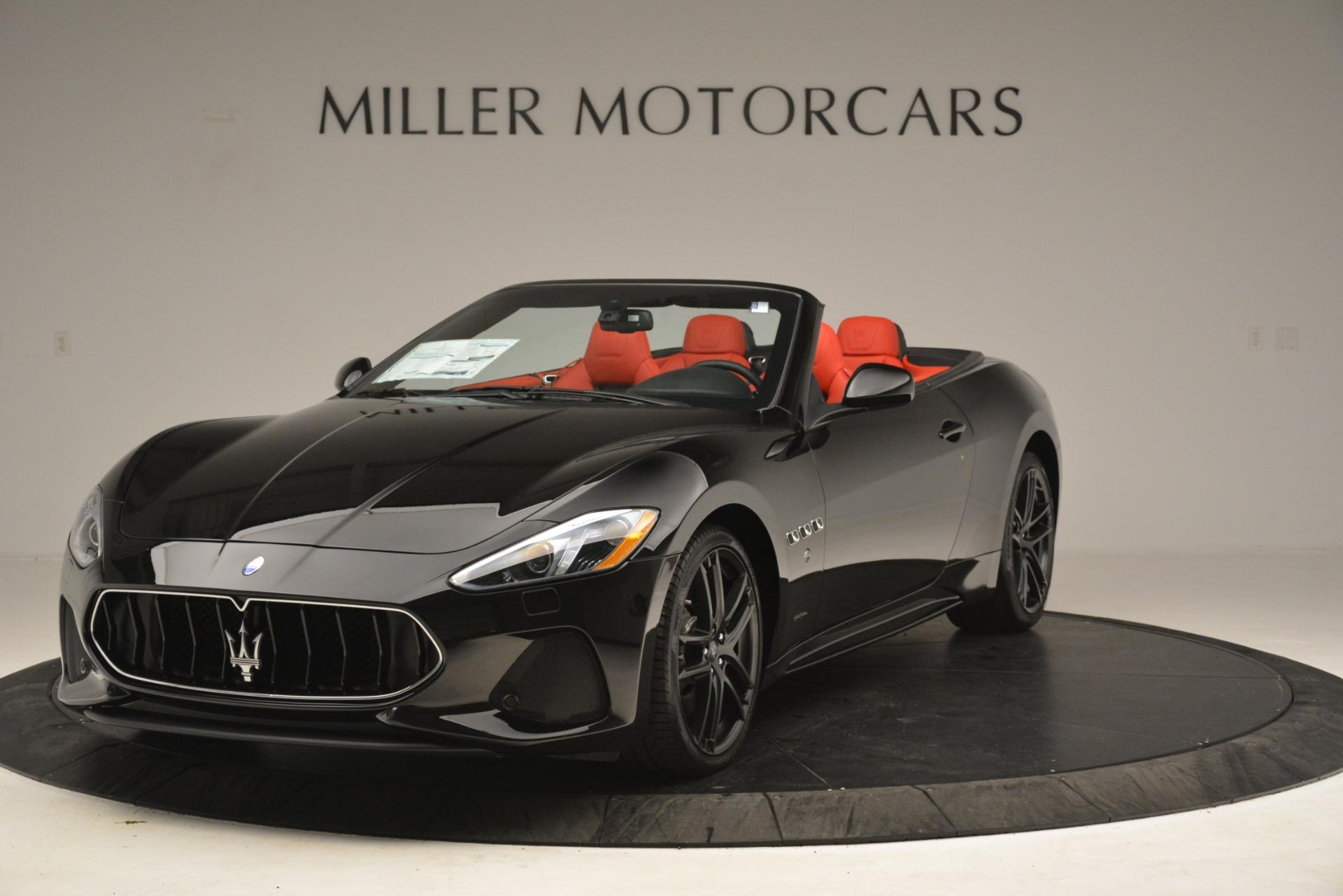 New 2018 Maserati GranTurismo Sport Convertible For Sale In Greenwich, CT. Alfa Romeo of Greenwich, M2291 3137_main