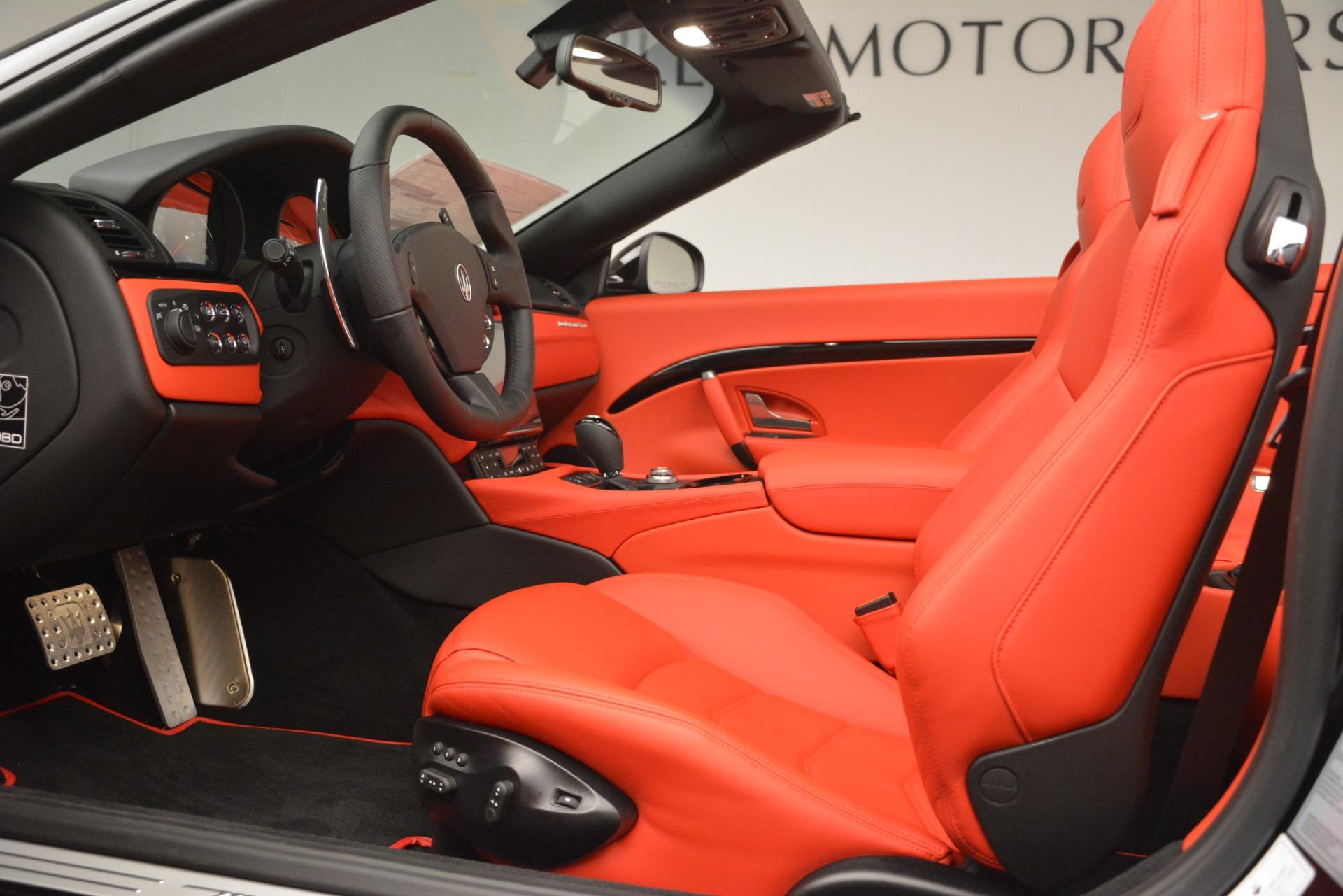 New 2018 Maserati GranTurismo Sport Convertible For Sale In Greenwich, CT. Alfa Romeo of Greenwich, M2291 3137_p26