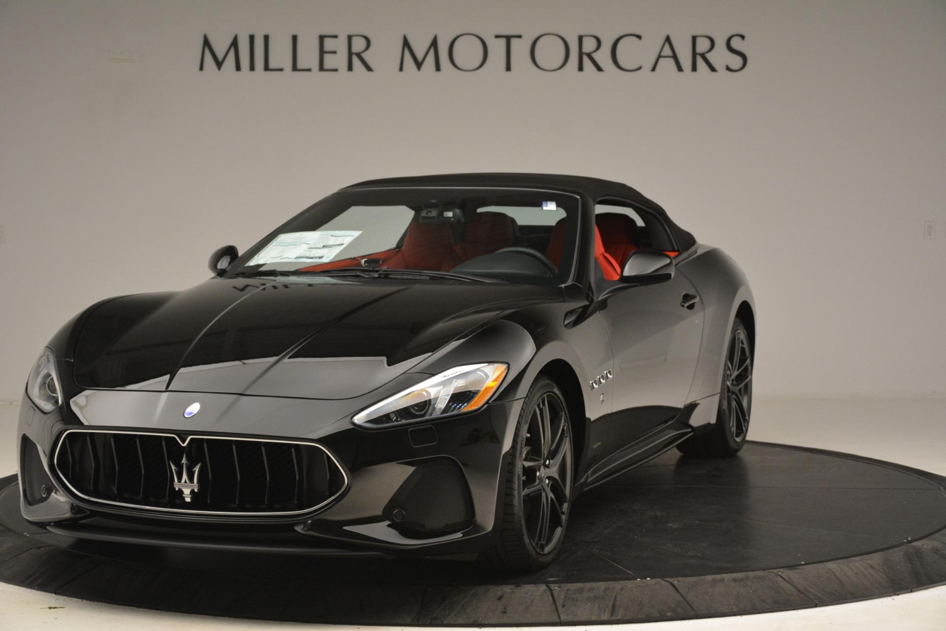 New 2018 Maserati GranTurismo Sport Convertible For Sale In Greenwich, CT. Alfa Romeo of Greenwich, M2291 3137_p2