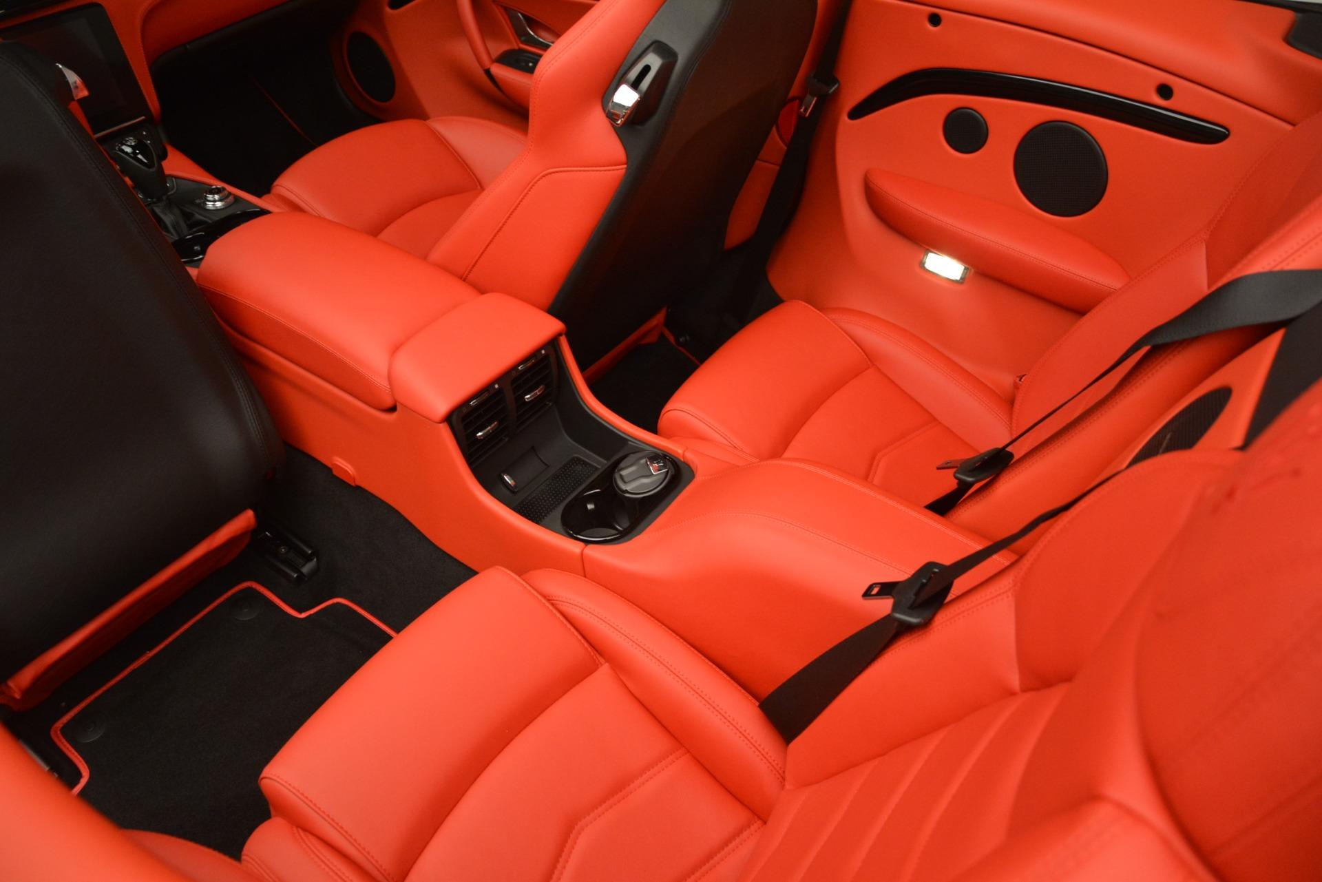 New 2018 Maserati GranTurismo Sport Convertible For Sale In Greenwich, CT. Alfa Romeo of Greenwich, M2291 3137_p32