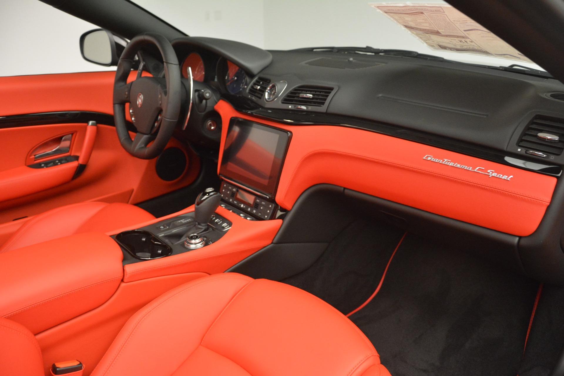 New 2018 Maserati GranTurismo Sport Convertible For Sale In Greenwich, CT. Alfa Romeo of Greenwich, M2291 3137_p33