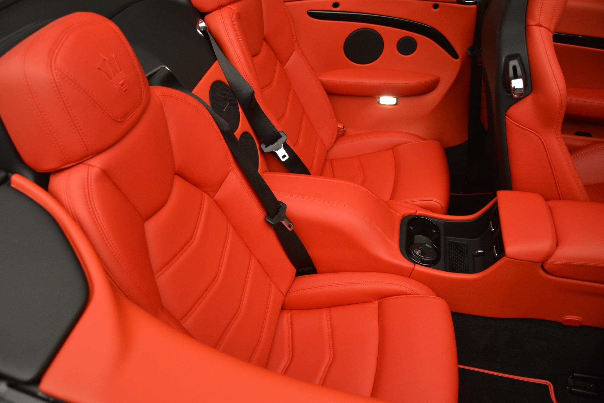 New 2018 Maserati GranTurismo Sport Convertible For Sale In Greenwich, CT. Alfa Romeo of Greenwich, M2291 3137_p38