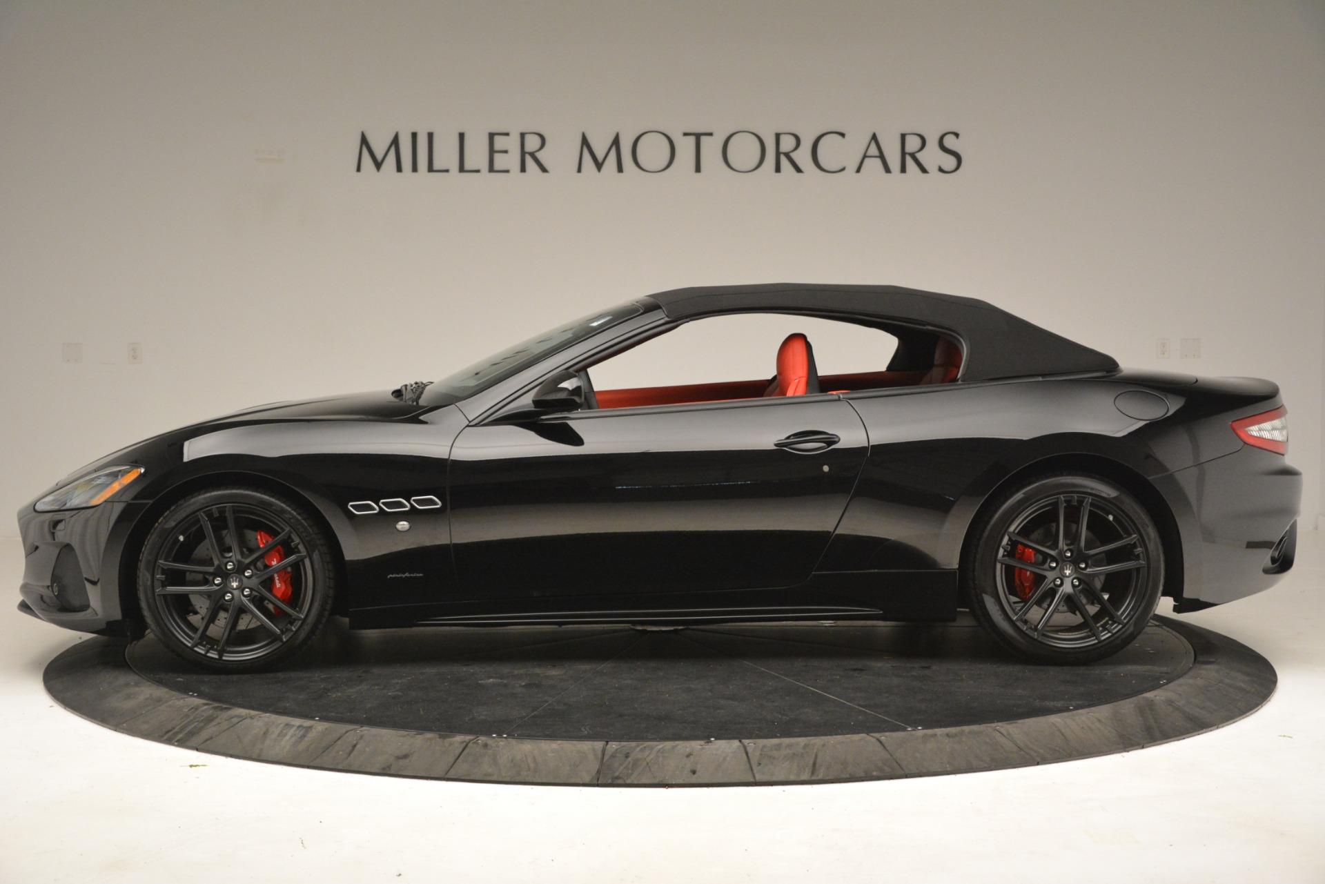 New 2018 Maserati GranTurismo Sport Convertible For Sale In Greenwich, CT. Alfa Romeo of Greenwich, M2291 3137_p6