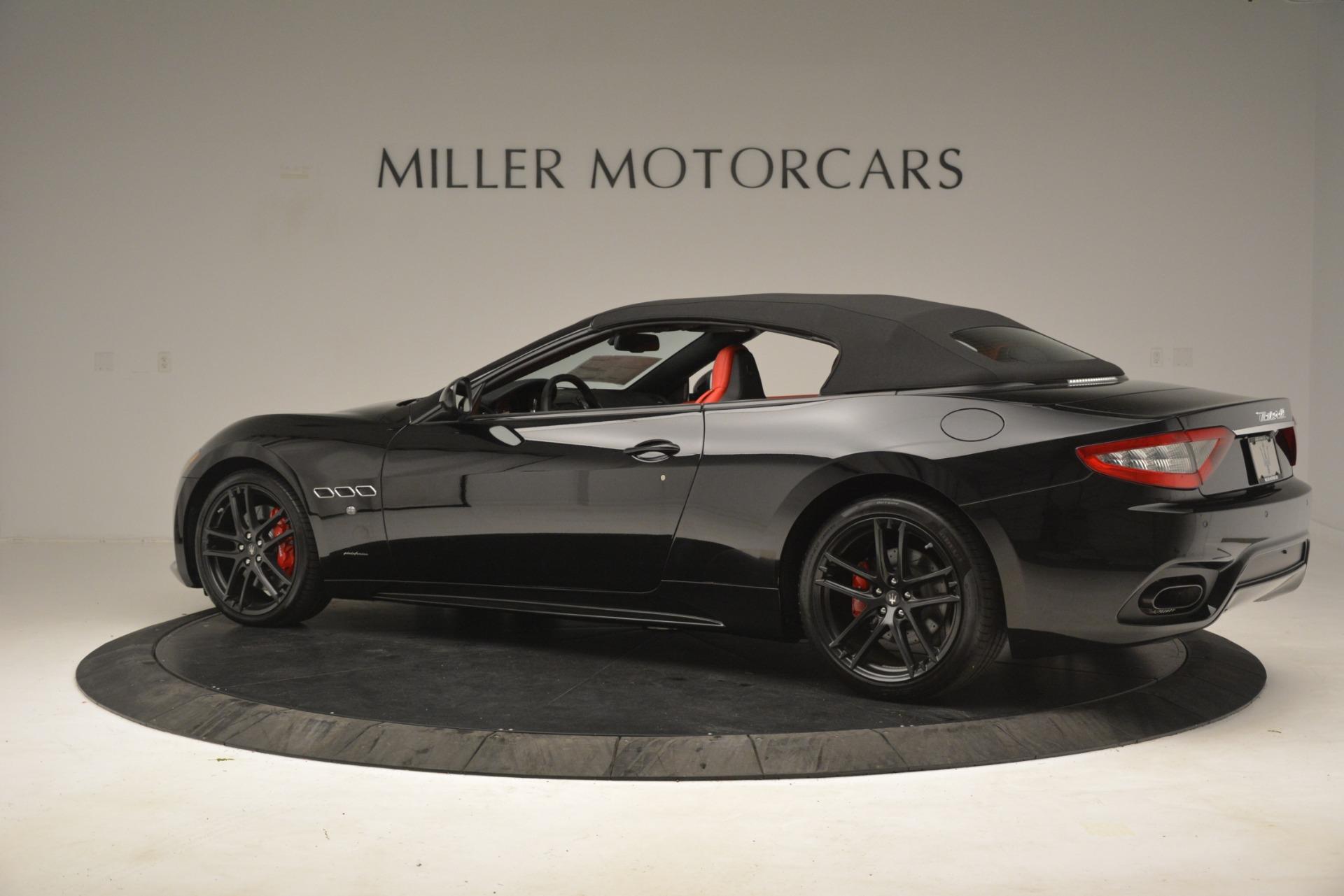 New 2018 Maserati GranTurismo Sport Convertible For Sale In Greenwich, CT. Alfa Romeo of Greenwich, M2291 3137_p8