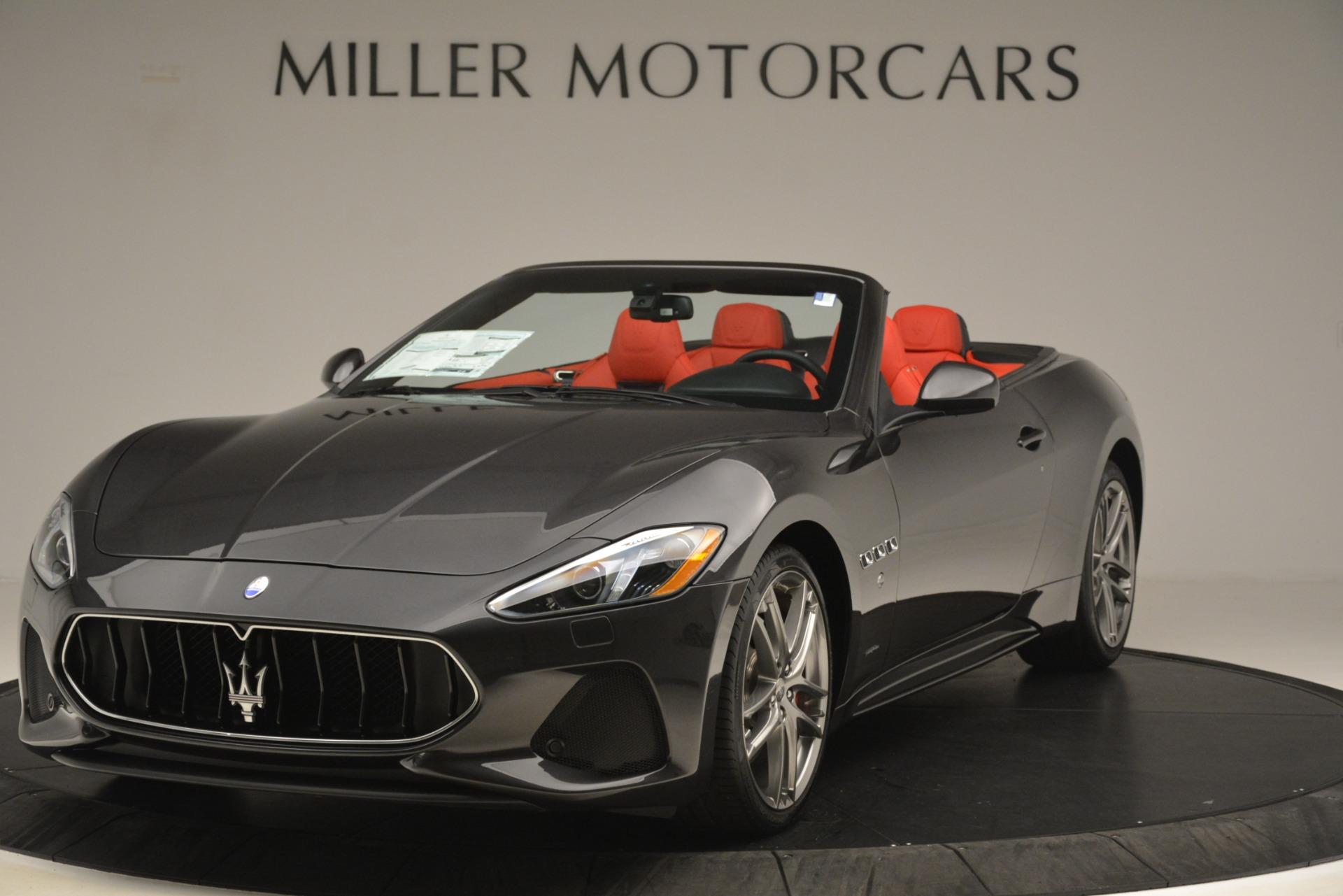New 2018 Maserati GranTurismo Sport Convertible For Sale In Greenwich, CT. Alfa Romeo of Greenwich, M2294 3138_main