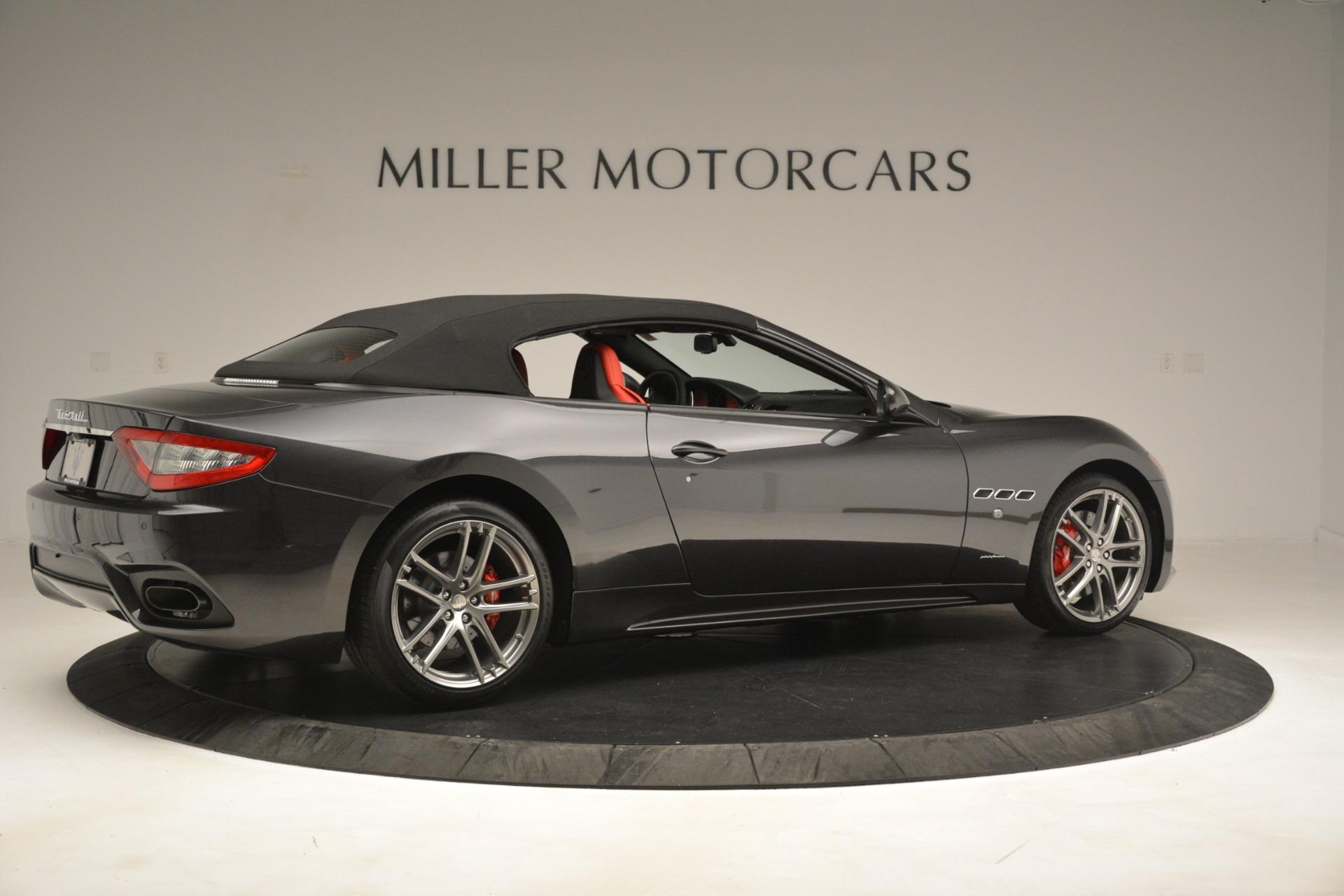 New 2018 Maserati GranTurismo Sport Convertible For Sale In Greenwich, CT. Alfa Romeo of Greenwich, M2294 3138_p16