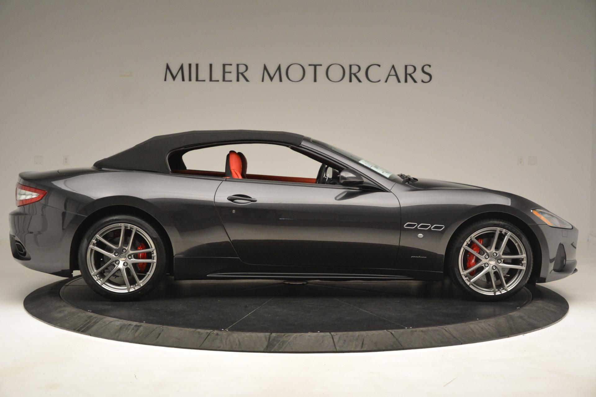 New 2018 Maserati GranTurismo Sport Convertible For Sale In Greenwich, CT. Alfa Romeo of Greenwich, M2294 3138_p18
