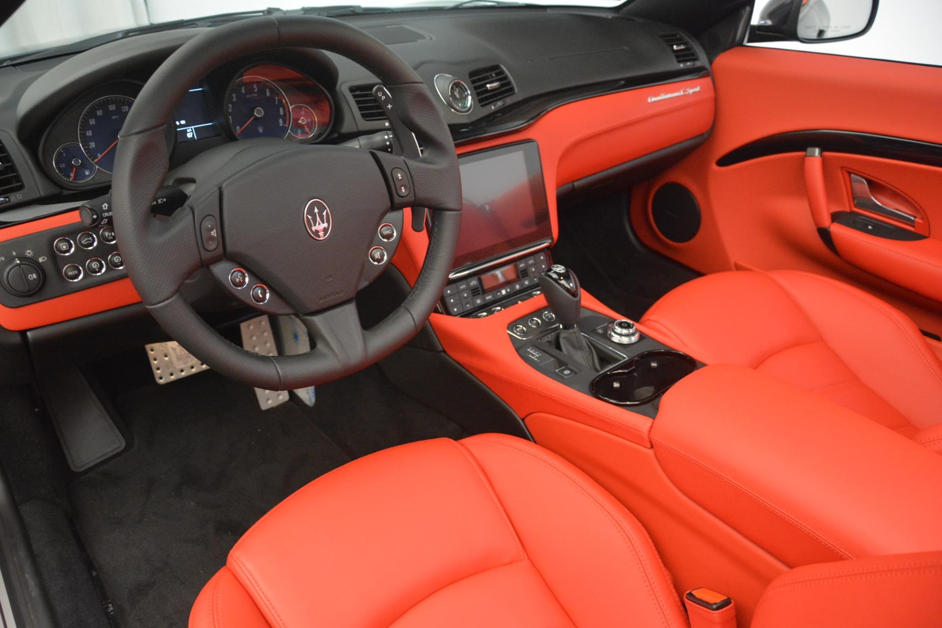 New 2018 Maserati GranTurismo Sport Convertible For Sale In Greenwich, CT. Alfa Romeo of Greenwich, M2294 3138_p25