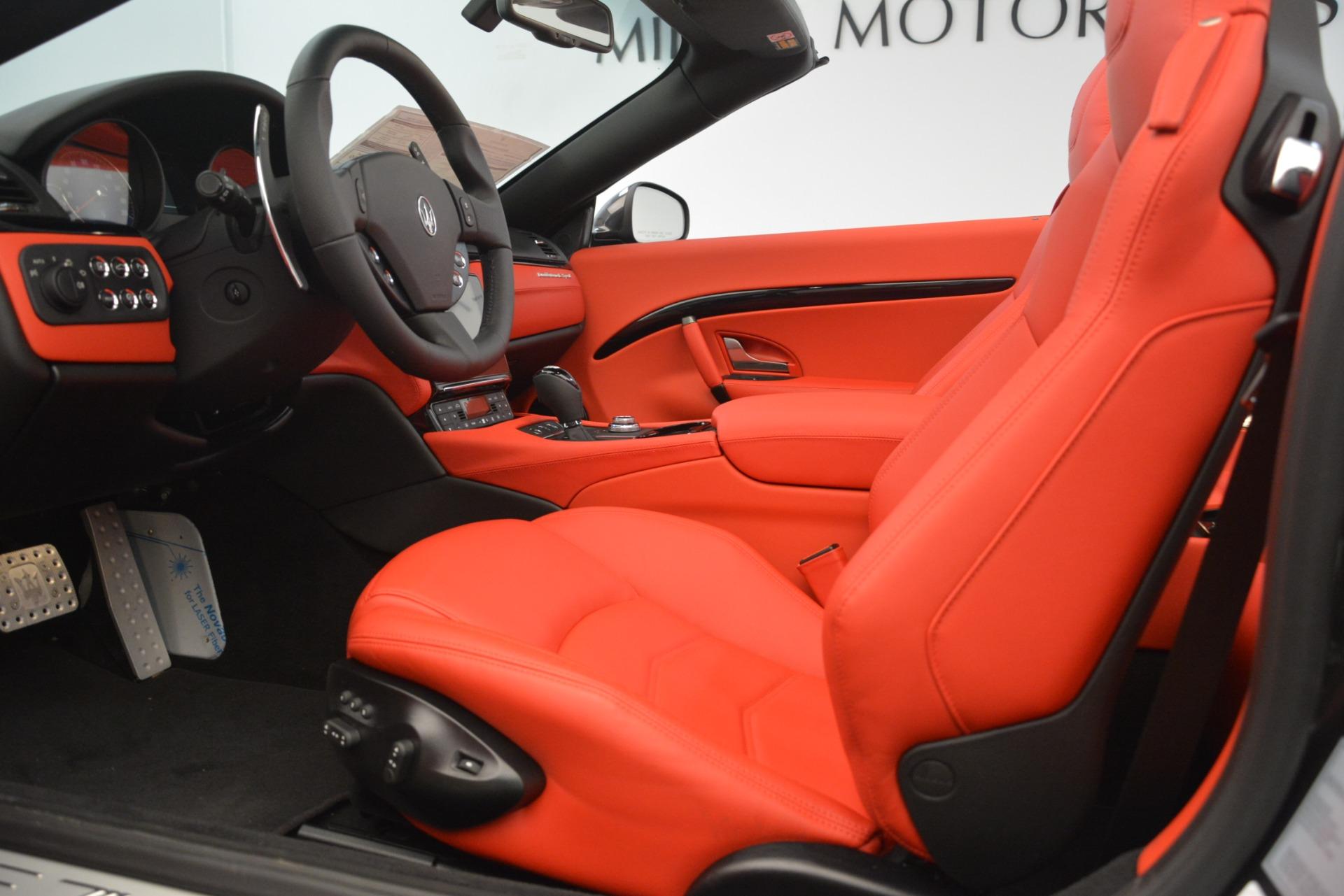 New 2018 Maserati GranTurismo Sport Convertible For Sale In Greenwich, CT. Alfa Romeo of Greenwich, M2294 3138_p26