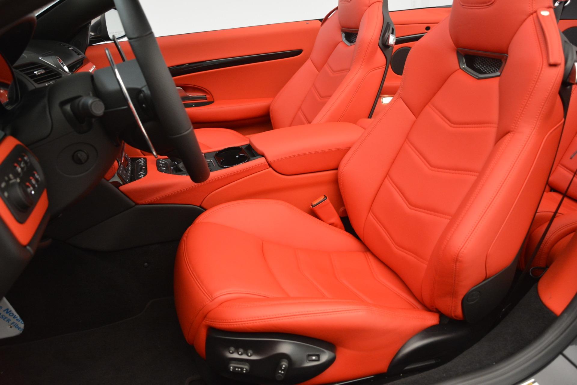 New 2018 Maserati GranTurismo Sport Convertible For Sale In Greenwich, CT. Alfa Romeo of Greenwich, M2294 3138_p27
