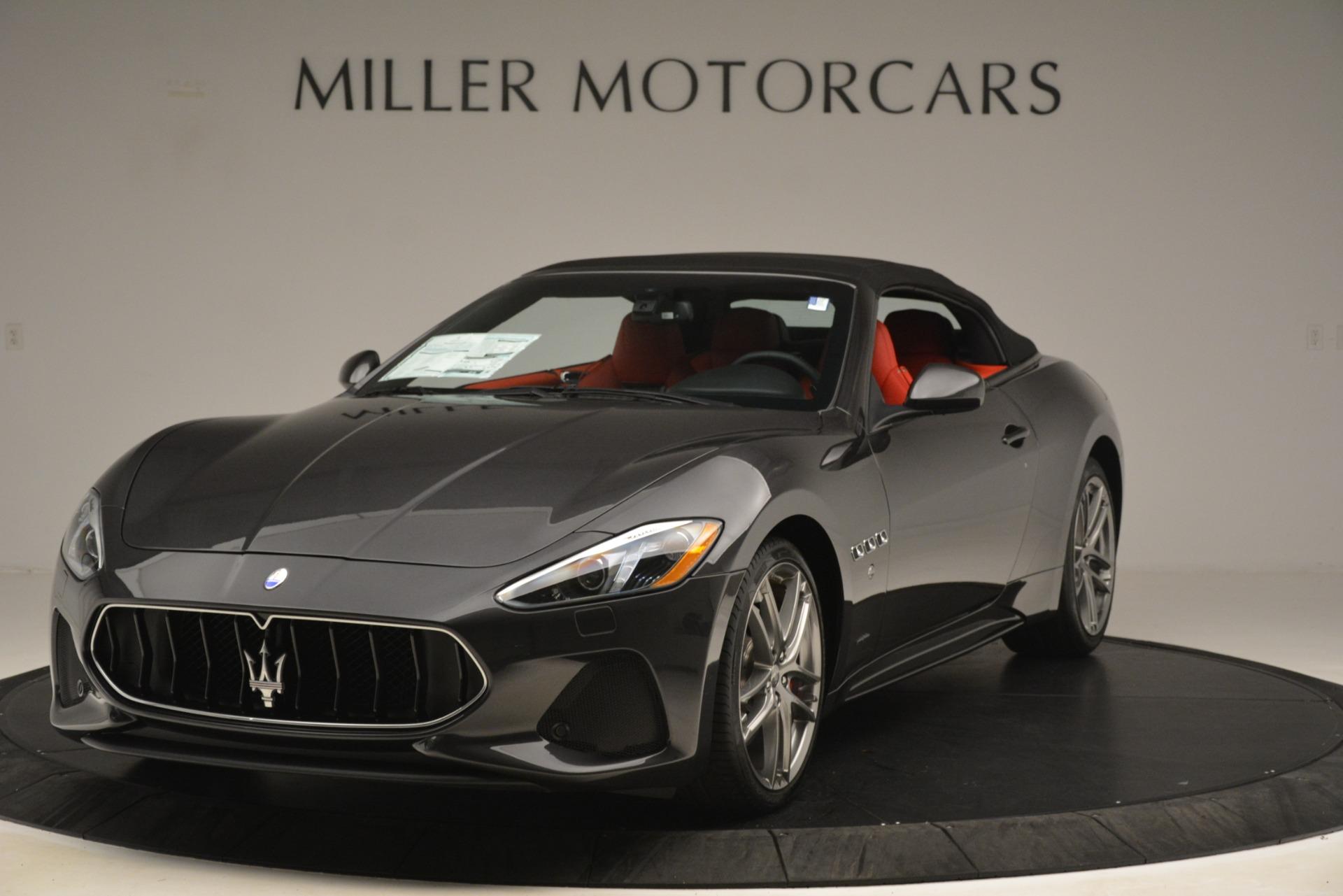 New 2018 Maserati GranTurismo Sport Convertible For Sale In Greenwich, CT. Alfa Romeo of Greenwich, M2294 3138_p2
