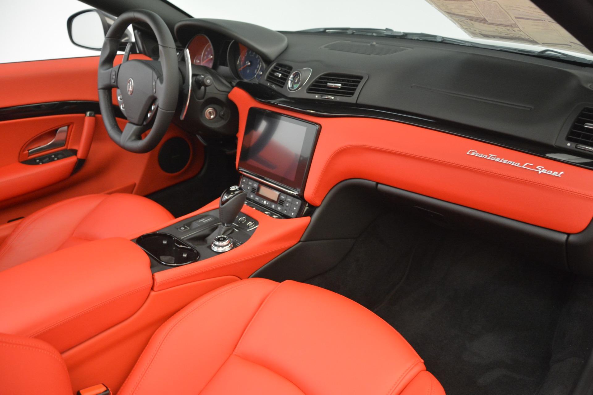 New 2018 Maserati GranTurismo Sport Convertible For Sale In Greenwich, CT. Alfa Romeo of Greenwich, M2294 3138_p32