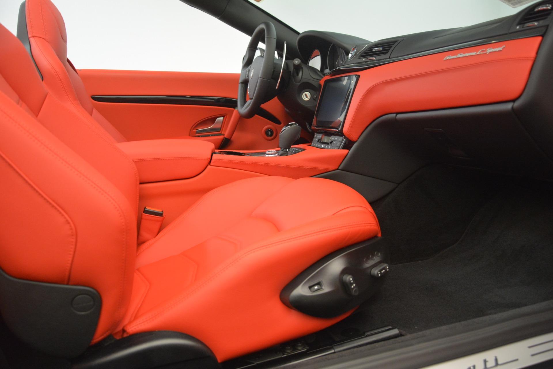 New 2018 Maserati GranTurismo Sport Convertible For Sale In Greenwich, CT. Alfa Romeo of Greenwich, M2294 3138_p33