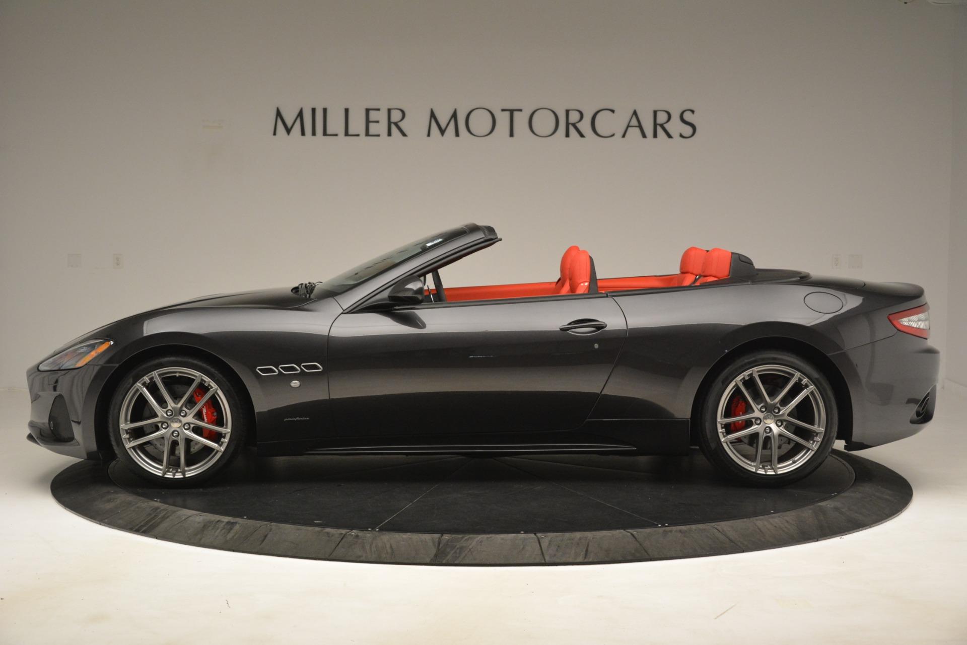 New 2018 Maserati GranTurismo Sport Convertible For Sale In Greenwich, CT. Alfa Romeo of Greenwich, M2294 3138_p5