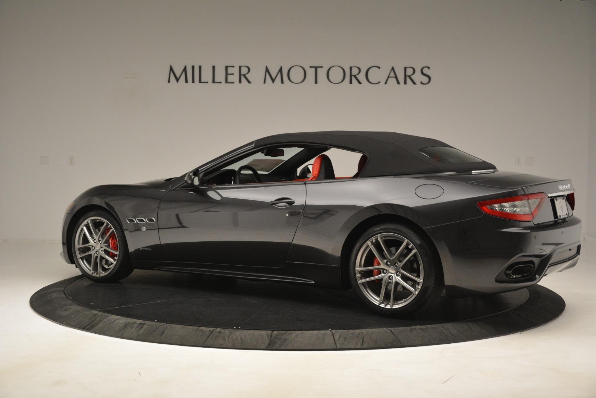 New 2018 Maserati GranTurismo Sport Convertible For Sale In Greenwich, CT. Alfa Romeo of Greenwich, M2294 3138_p8