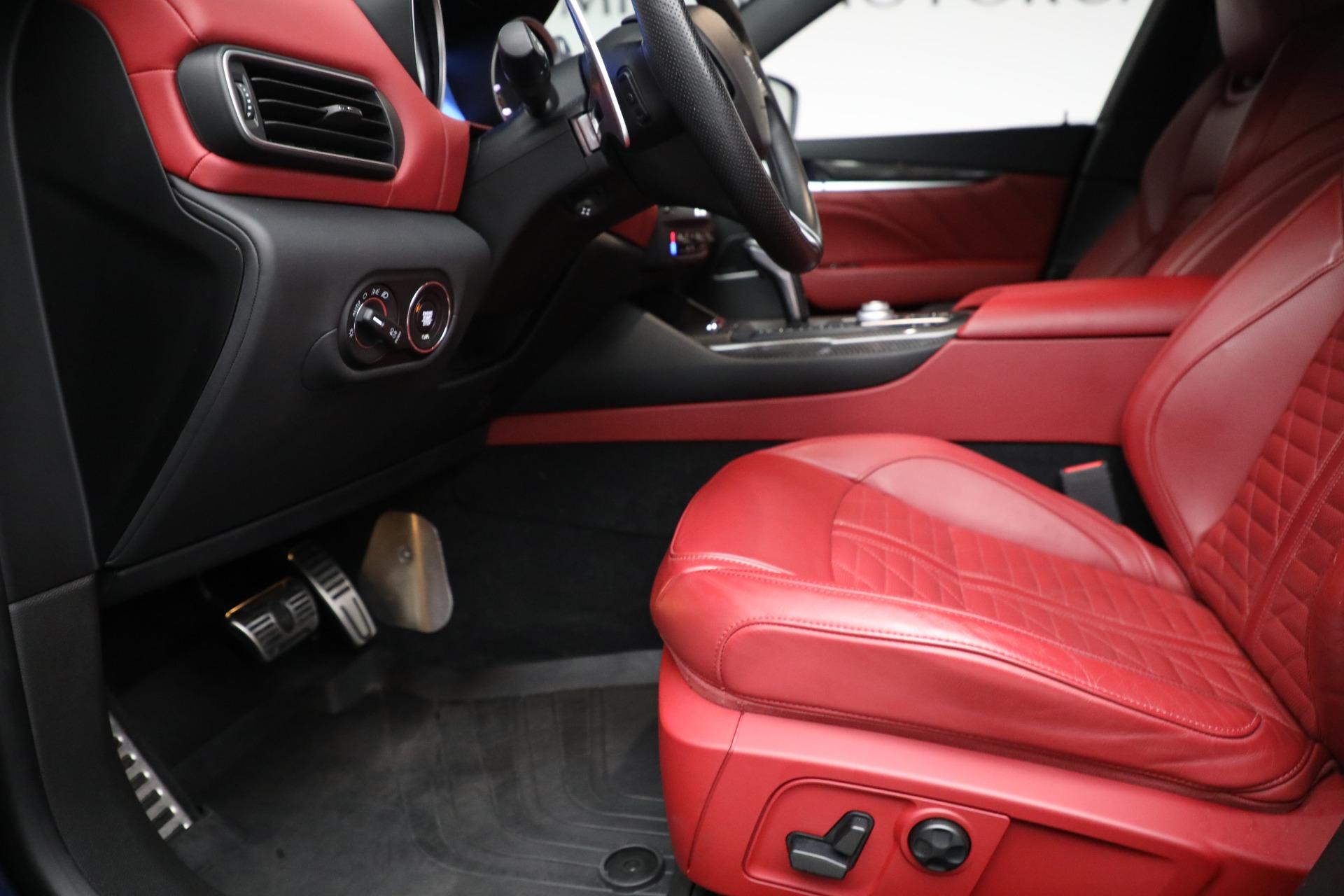 New 2019 Maserati Levante S Q4 GranSport For Sale In Greenwich, CT. Alfa Romeo of Greenwich, M2297 3143_p14