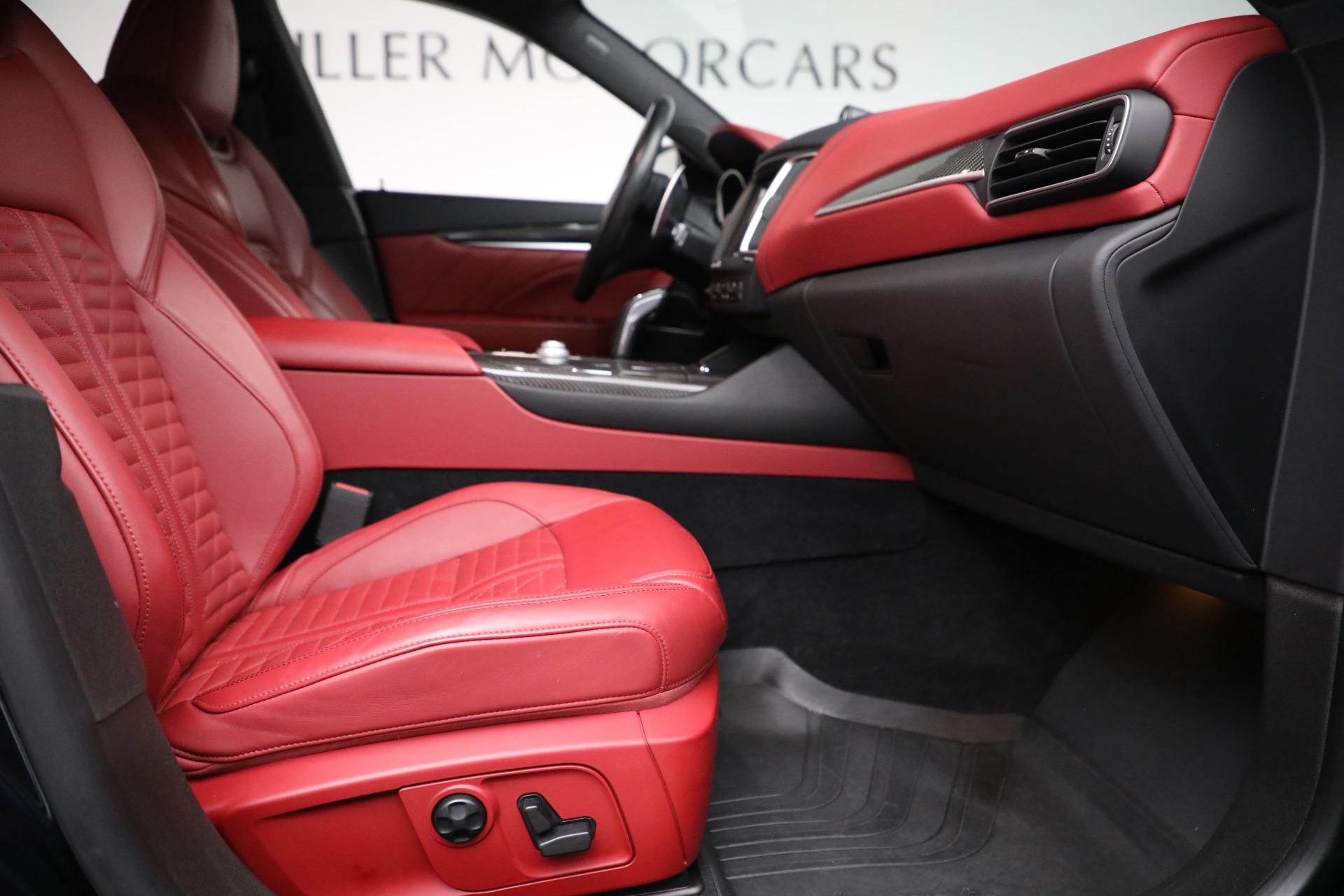 New 2019 Maserati Levante S Q4 GranSport For Sale In Greenwich, CT. Alfa Romeo of Greenwich, M2297 3143_p22