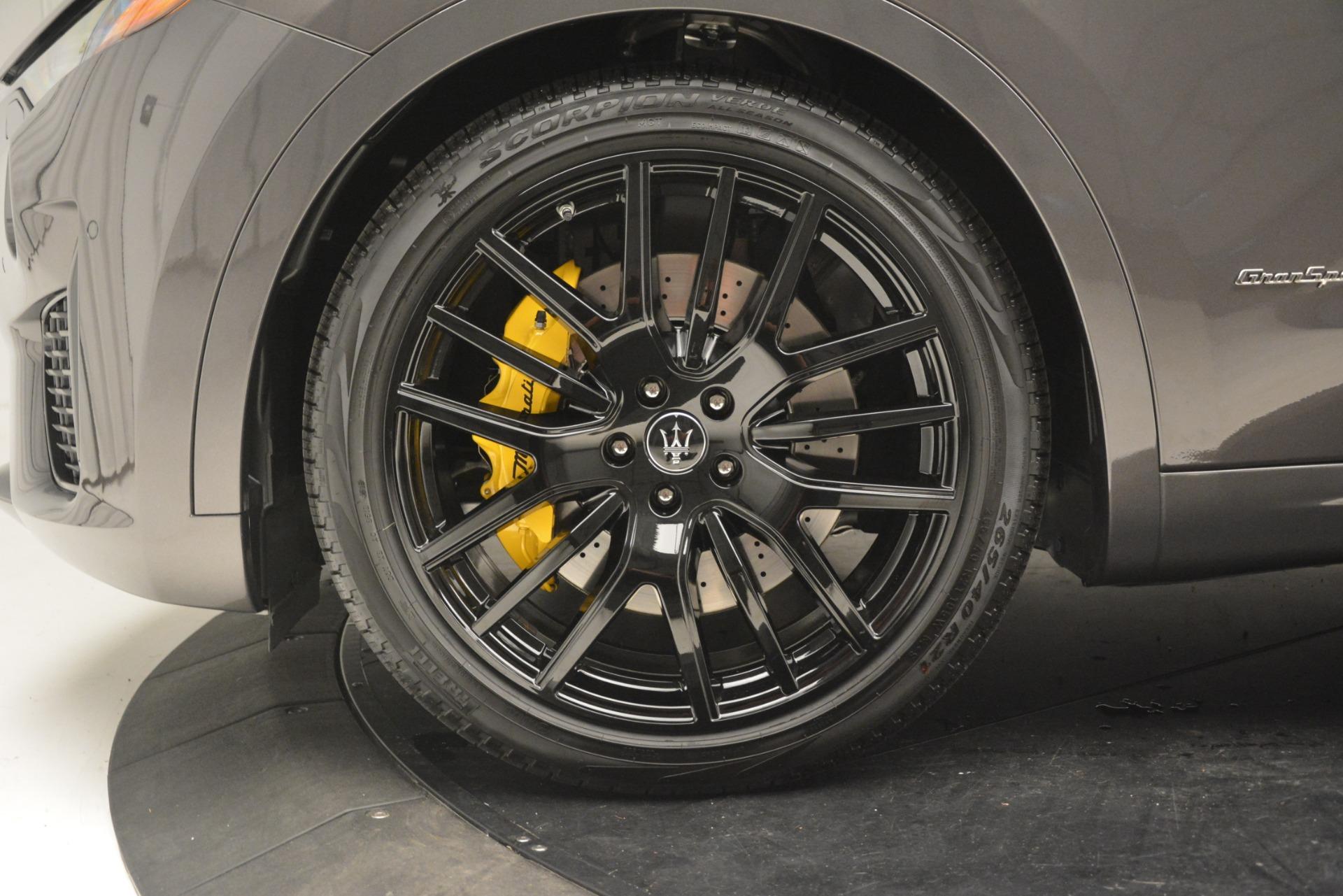 New 2019 Maserati Levante SQ4 GranSport Nerissimo For Sale In Greenwich, CT. Alfa Romeo of Greenwich, M2304 3146_p31