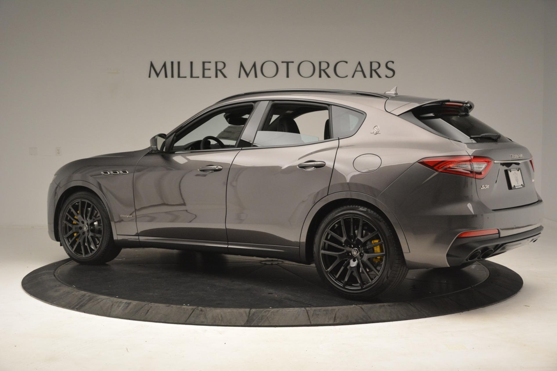 New 2019 Maserati Levante SQ4 GranSport Nerissimo For Sale In Greenwich, CT. Alfa Romeo of Greenwich, M2304 3146_p4