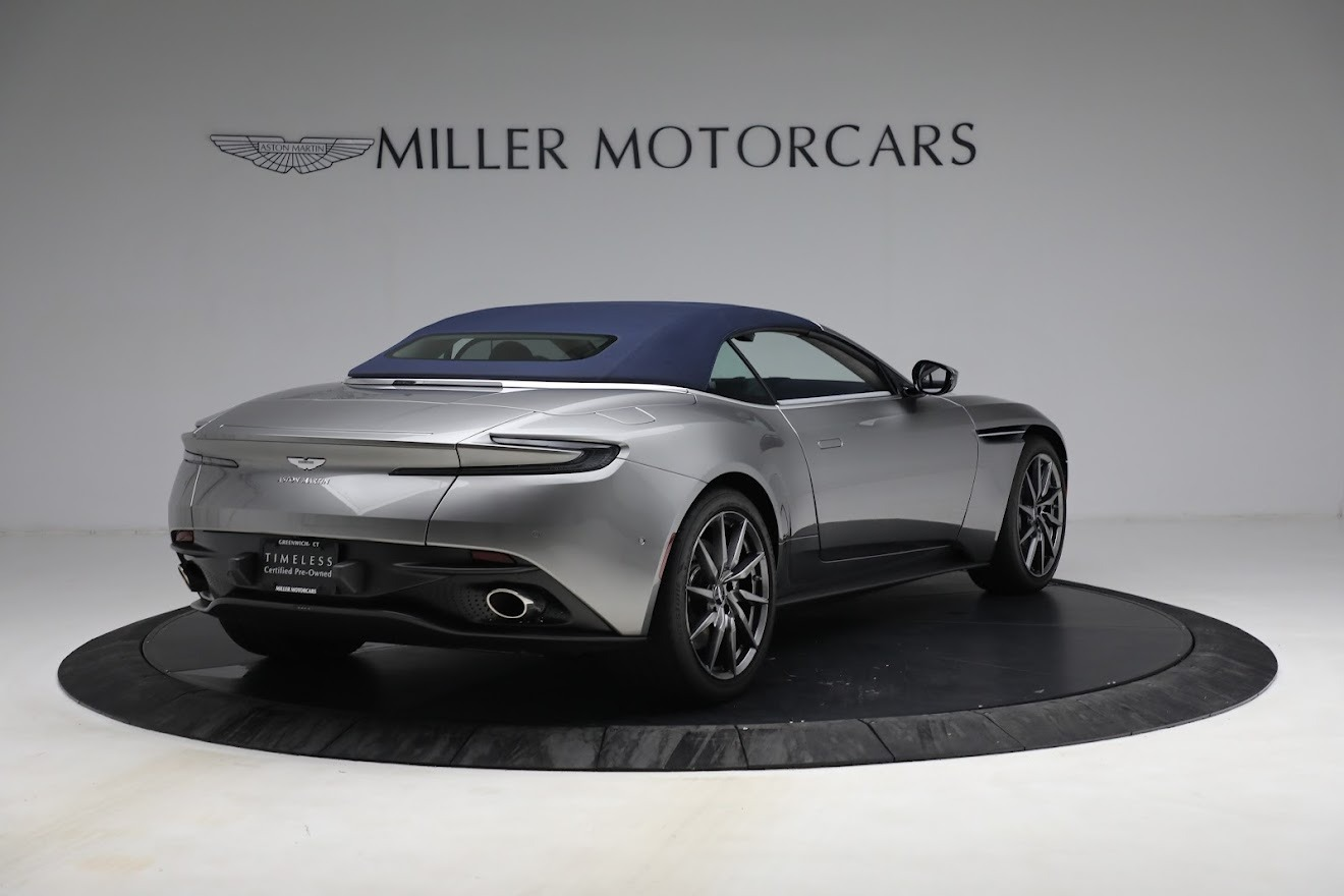 New 2019 Aston Martin DB11 V8 Convertible For Sale In Greenwich, CT. Alfa Romeo of Greenwich, A1361 3147_p17