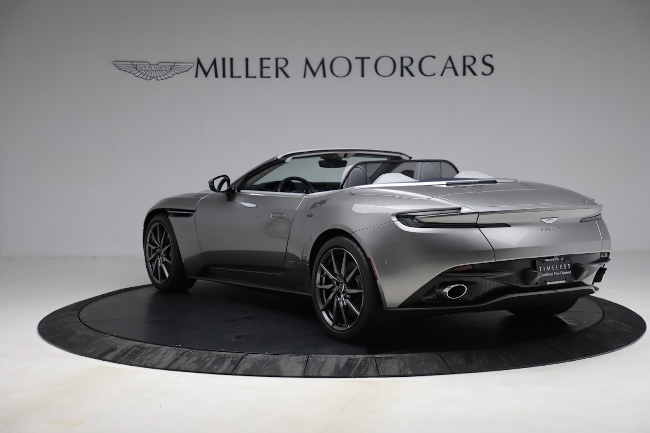 New 2019 Aston Martin DB11 V8 Convertible For Sale In Greenwich, CT. Alfa Romeo of Greenwich, A1361 3147_p5